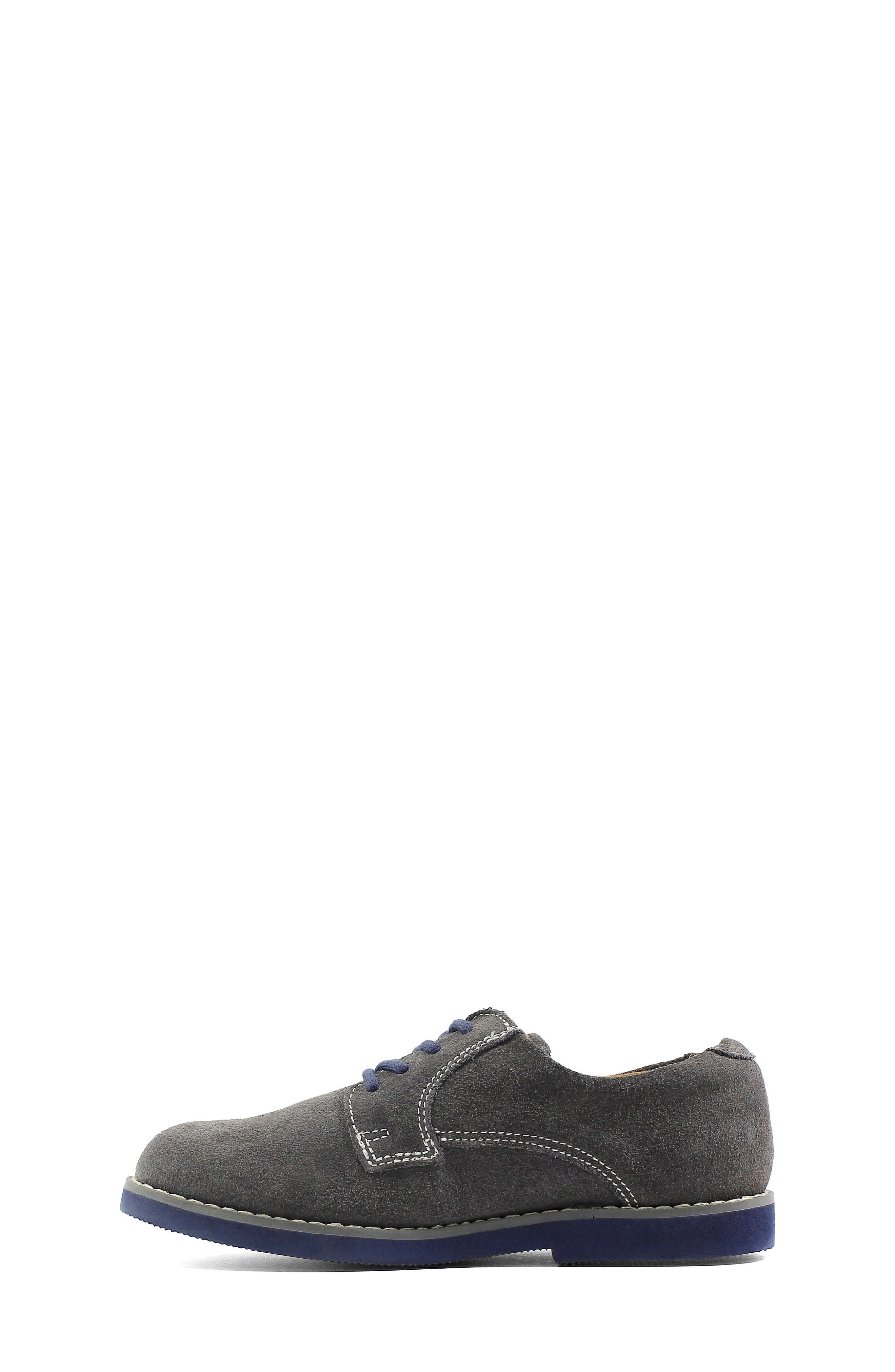 Kearny Two Tone Oxford,                             Alternate thumbnail 7, color,                             GREY/ NAVY SOLE