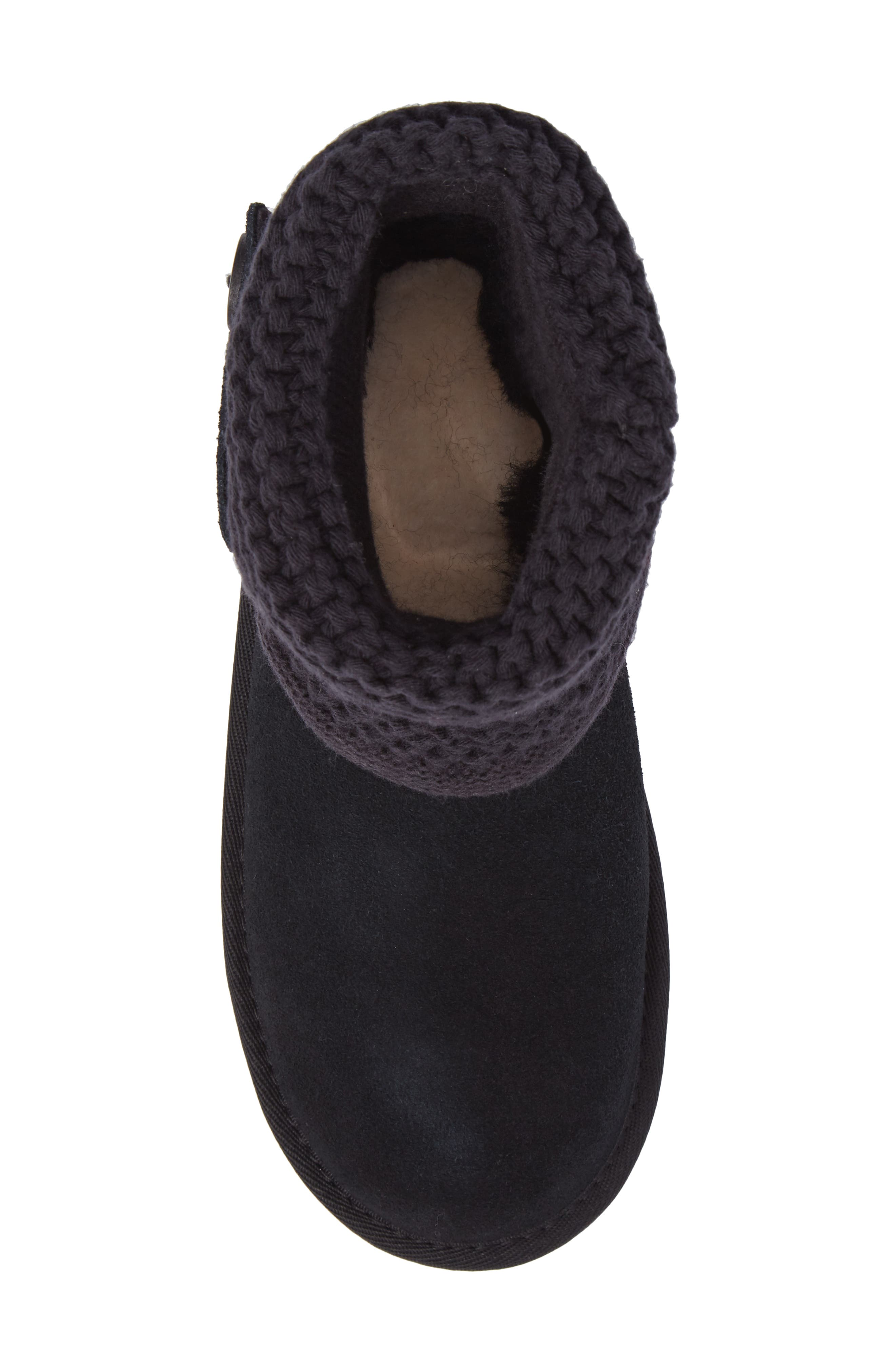 Darrah II Knit Cuff Boot,                             Alternate thumbnail 5, color,                             001