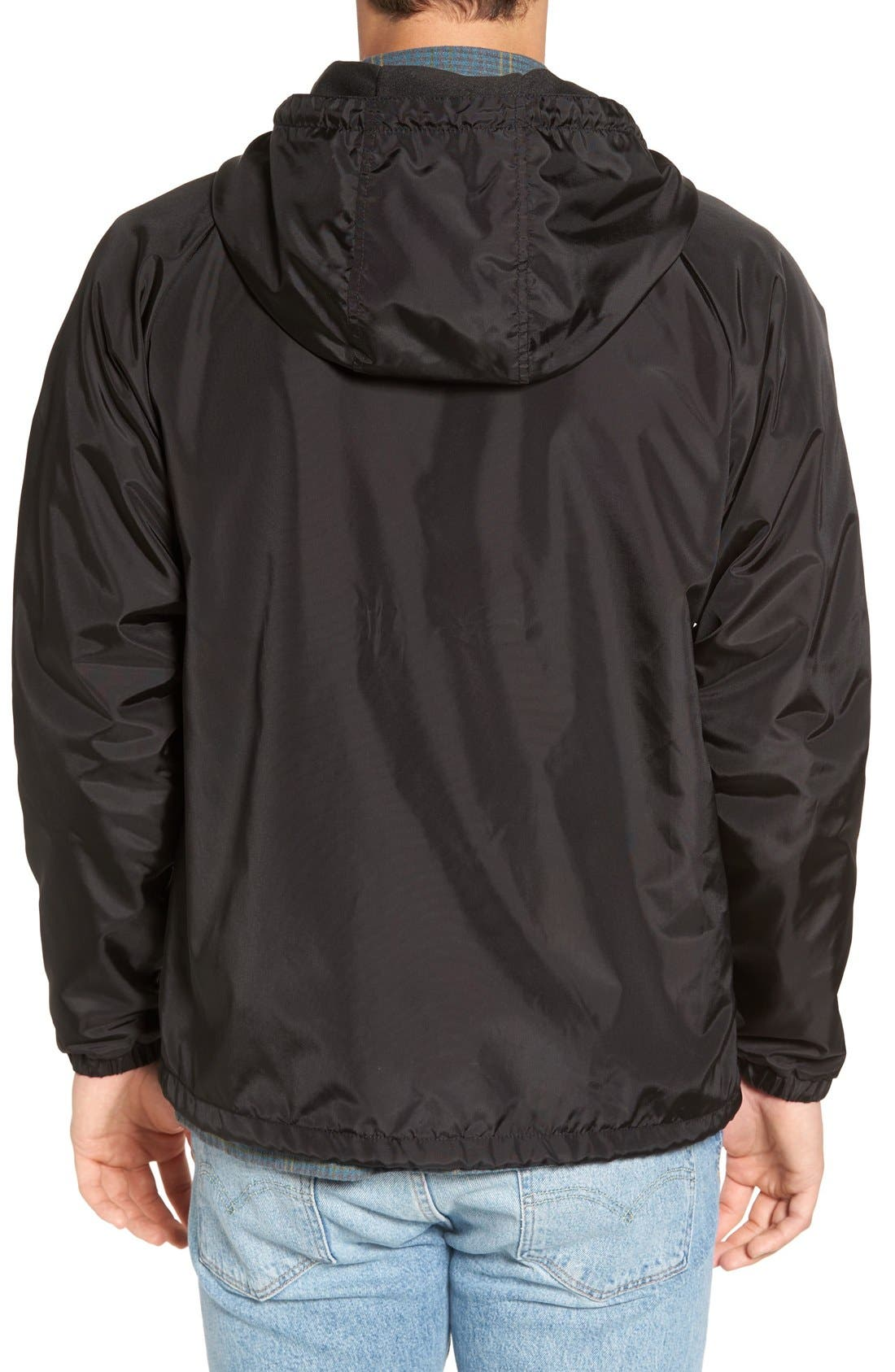 'Claxton' Water Repellent Windbreaker,                             Alternate thumbnail 2, color,                             001
