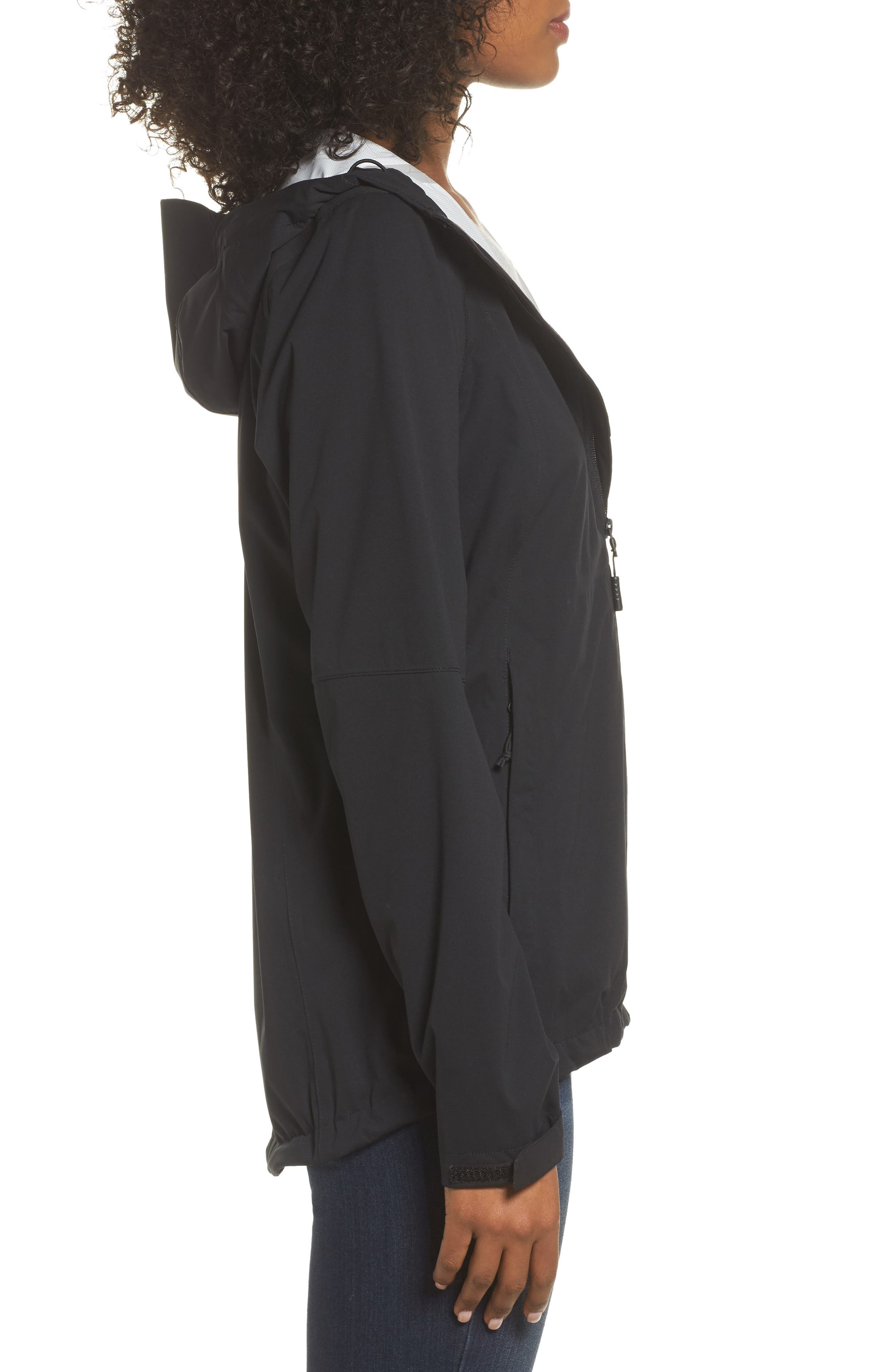Allproof Stretch Jacket,                             Alternate thumbnail 3, color,                             TNF BLACK