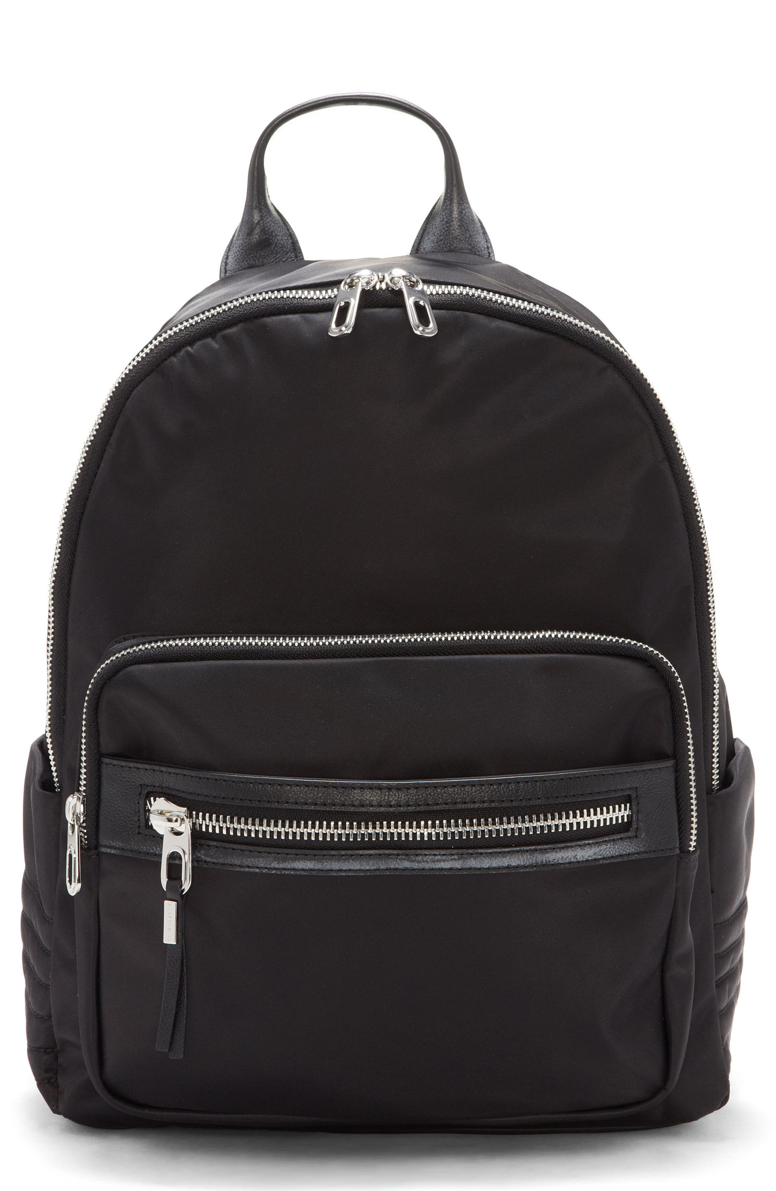 Action Nylon Backpack,                             Main thumbnail 1, color,                             001