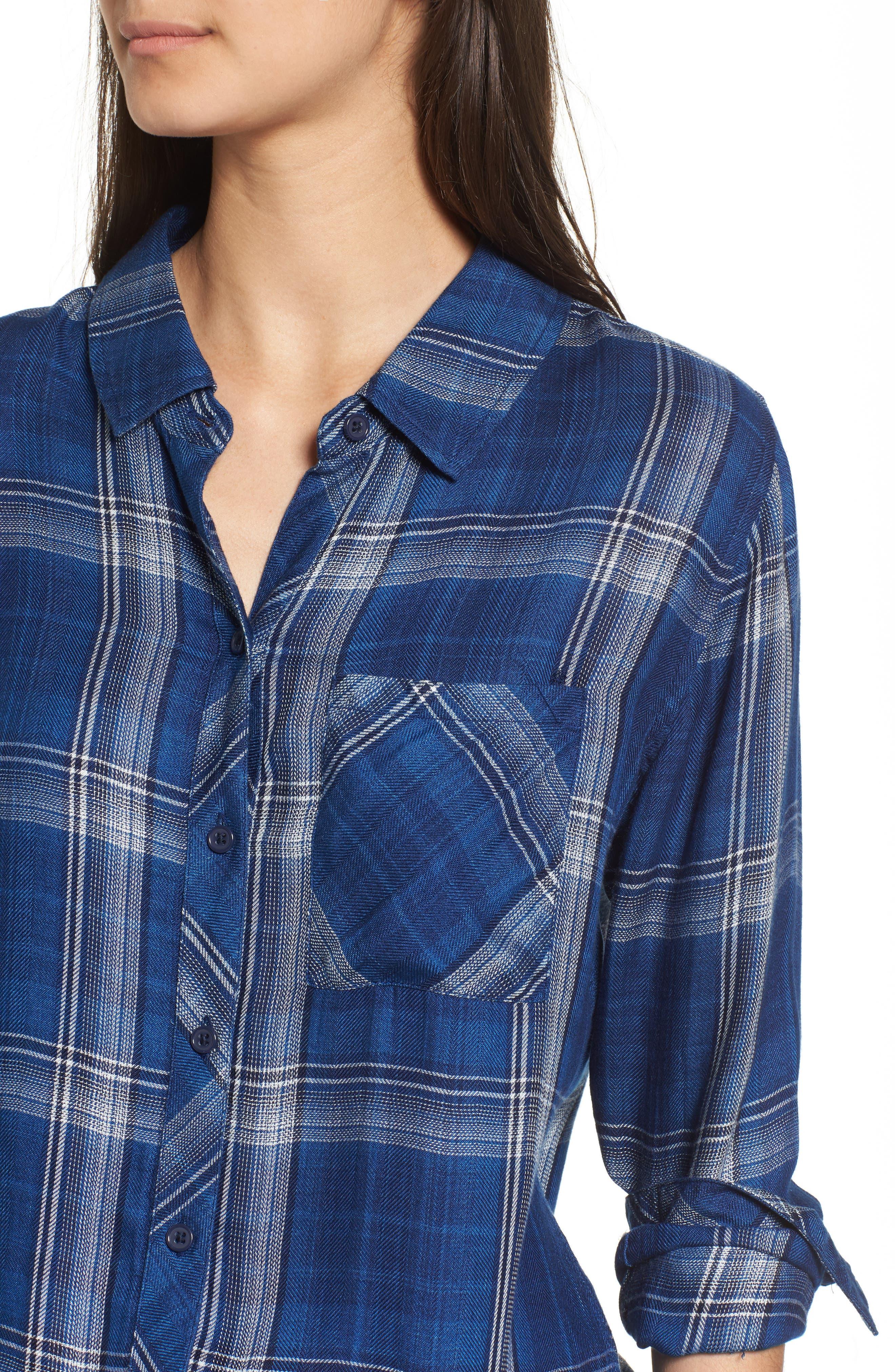 Hunter Plaid Shirt,                             Alternate thumbnail 455, color,