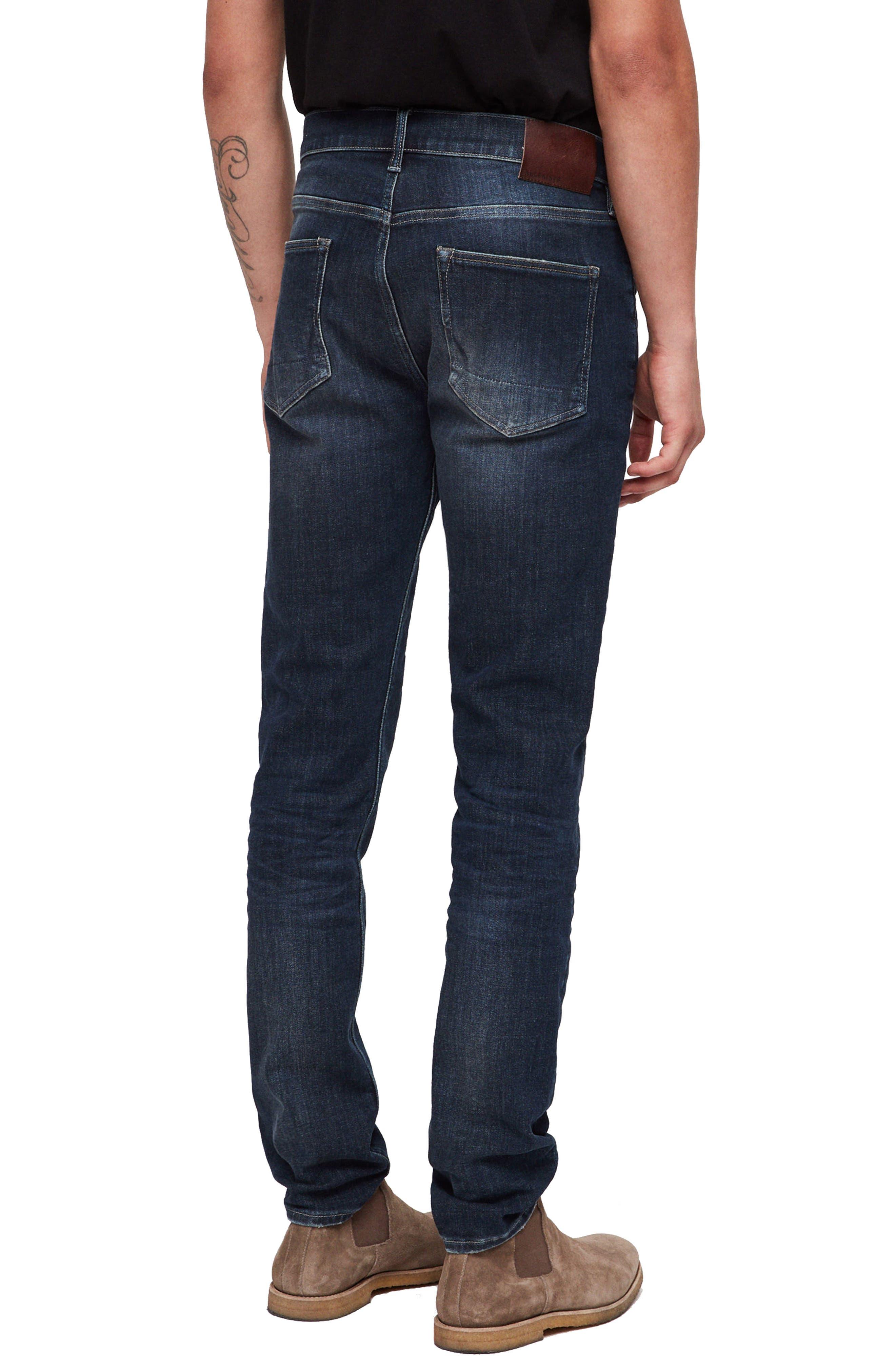 Rex Slim Fit Stretch Straight Leg Jeans,                             Alternate thumbnail 2, color,                             460