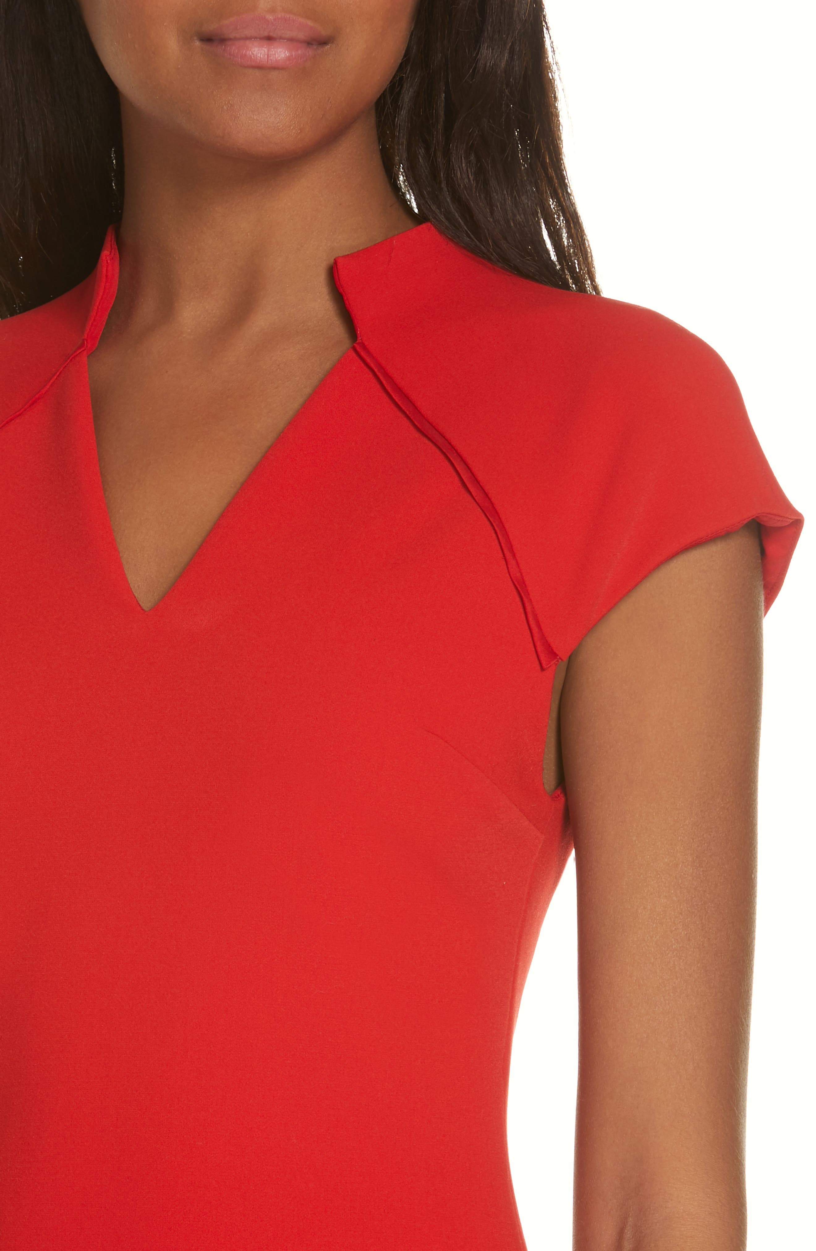 Latisha Fitted Dress,                             Alternate thumbnail 4, color,                             626