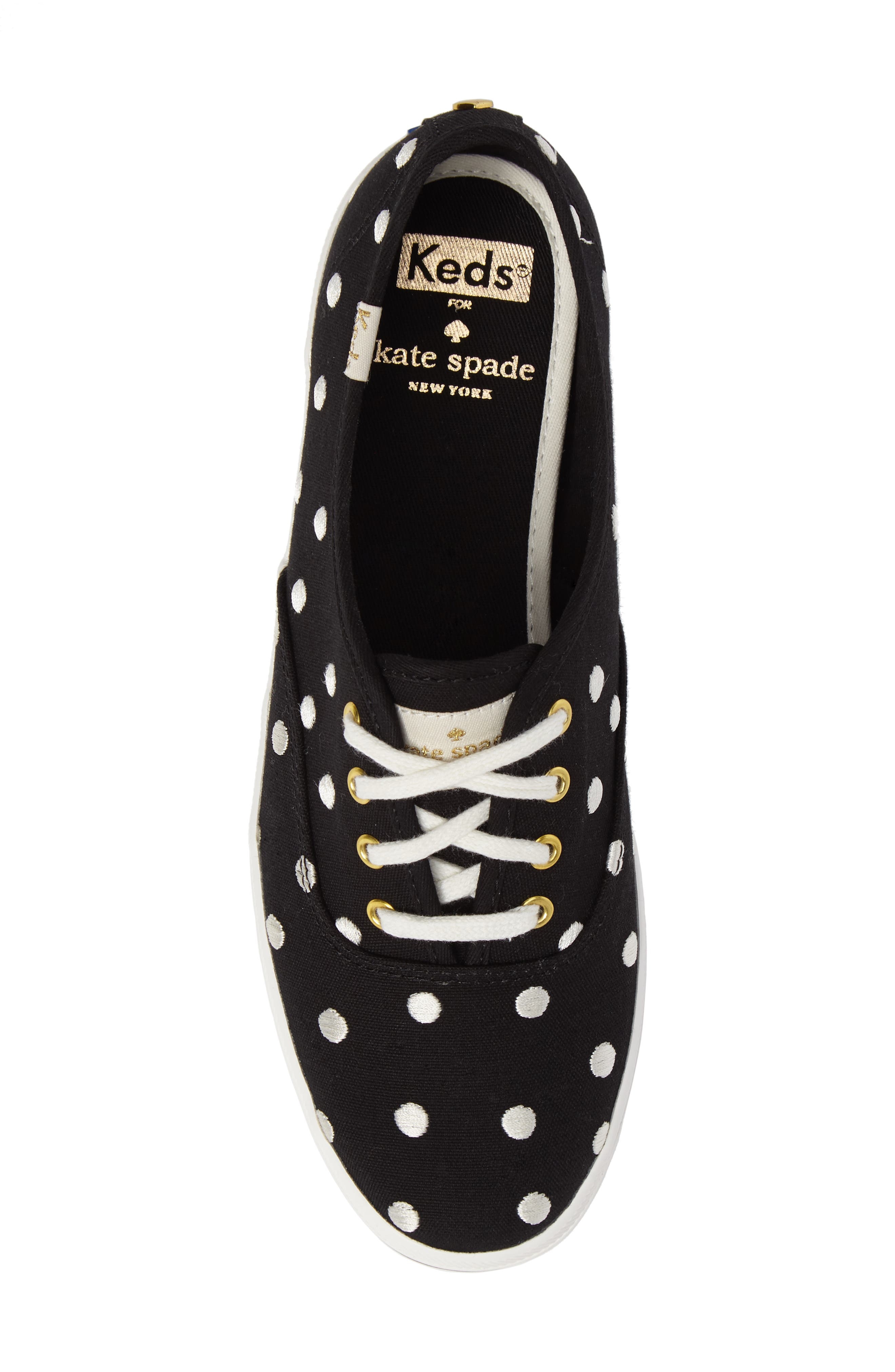Keds<sup>®</sup> x kate spade new york champion sneaker,                             Alternate thumbnail 17, color,