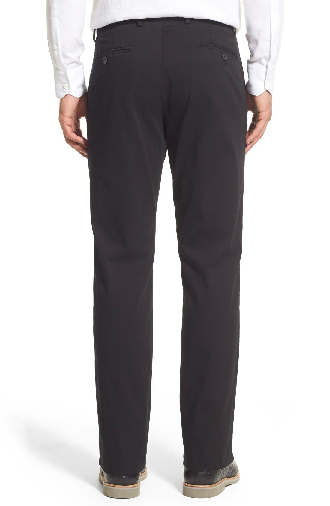 Atwater Cotton Twill Pants,                             Alternate thumbnail 2, color,                             001