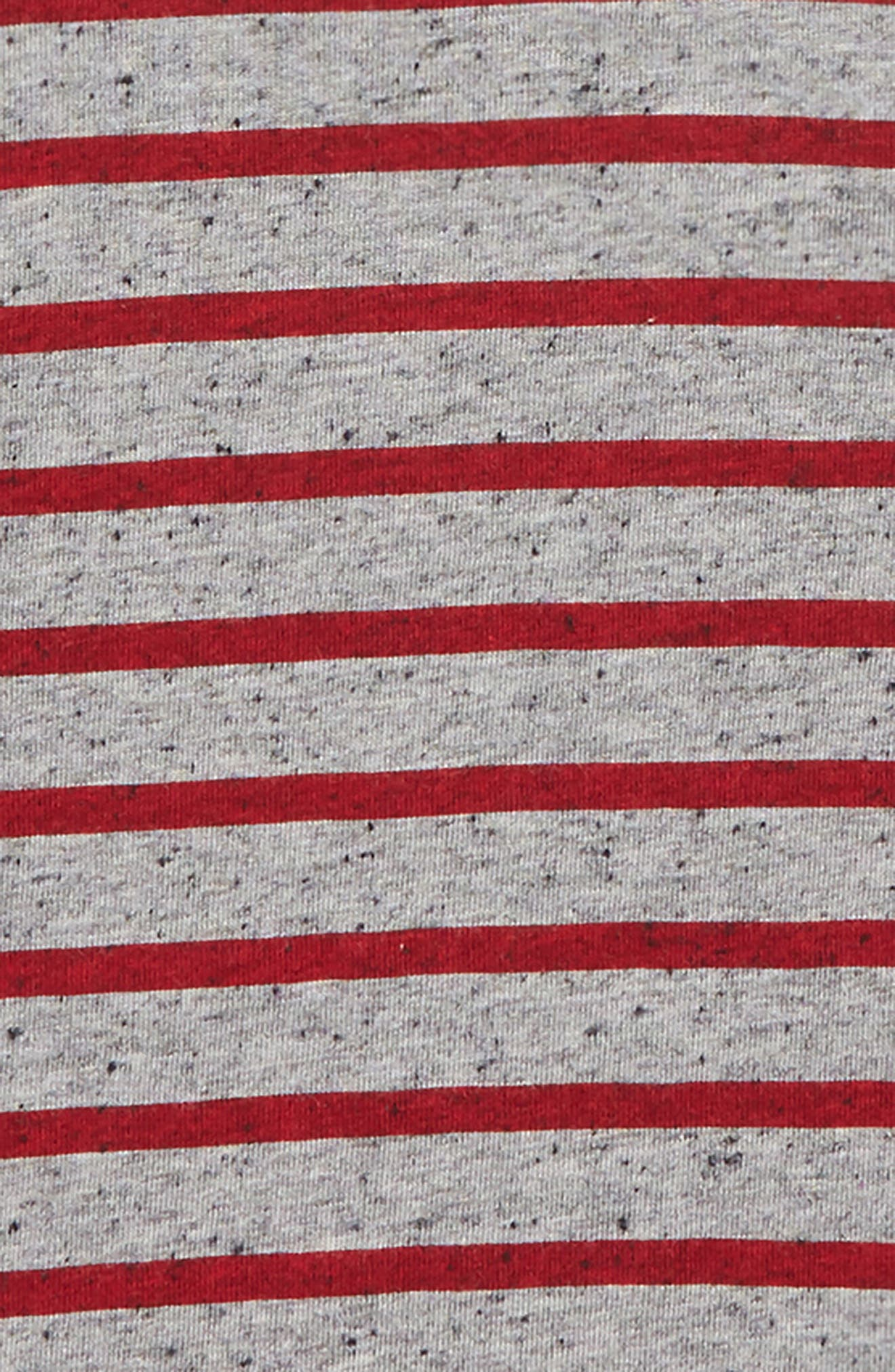 Stripe Raglan Shirt,                             Alternate thumbnail 2, color,                             600