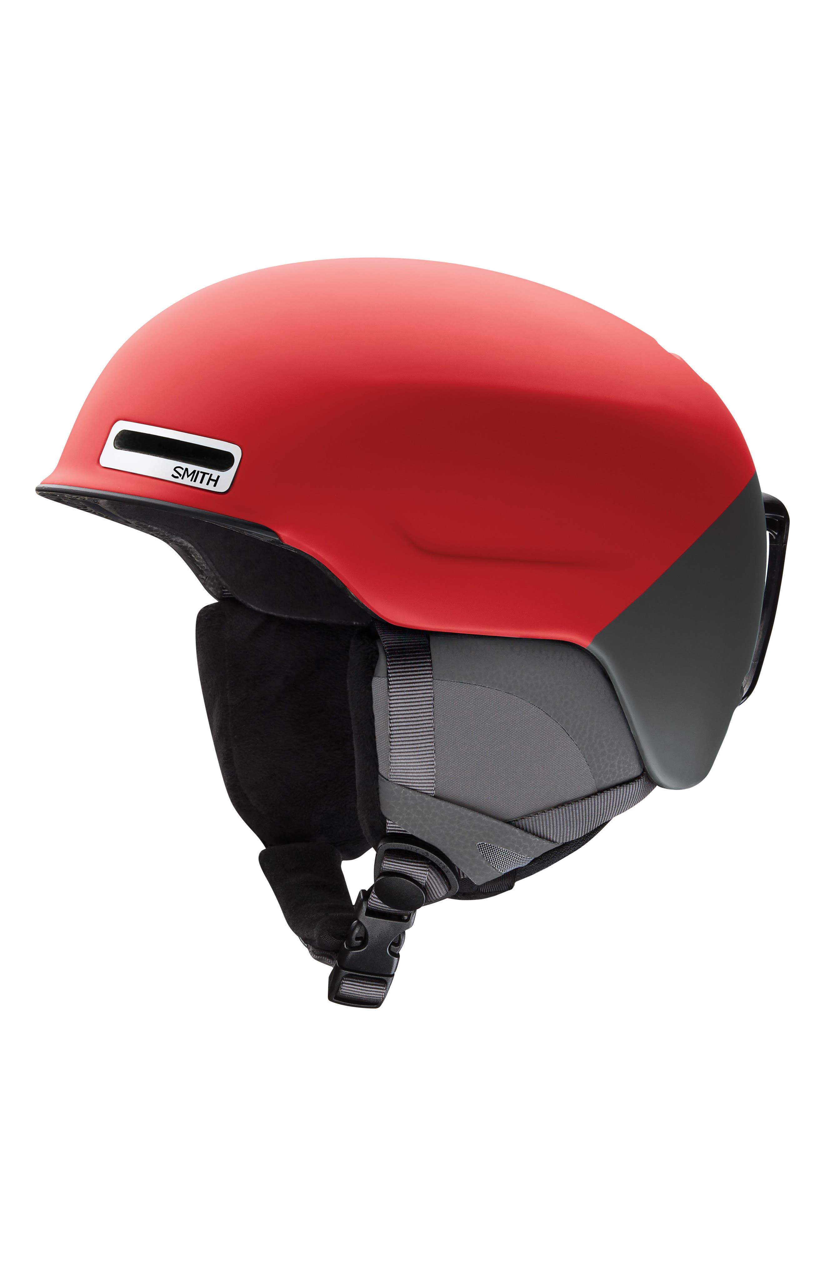 Maze MIPS Snow Helmet,                         Main,                         color, MATTE FIRE SPLIT