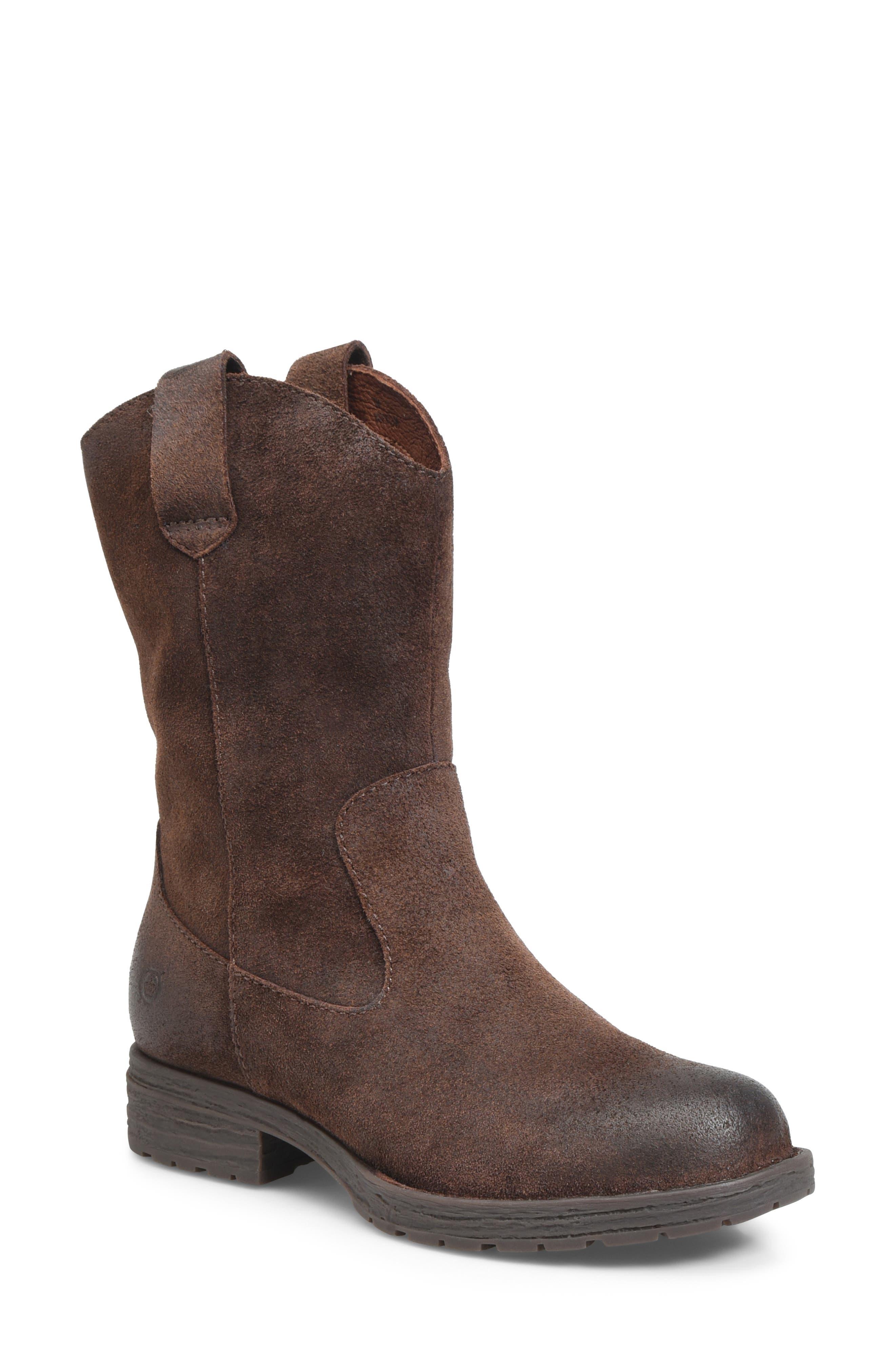 B?rn Basin Waterproof Western Boot, Brown