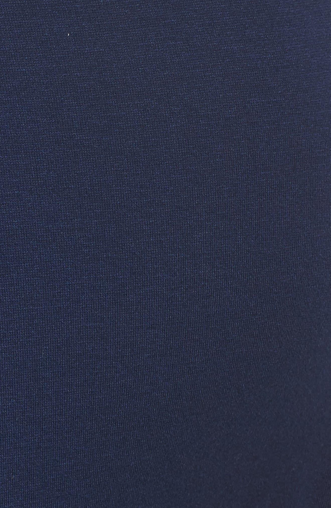 'Tallulah' Maternity Jersey Robe,                             Alternate thumbnail 6, color,