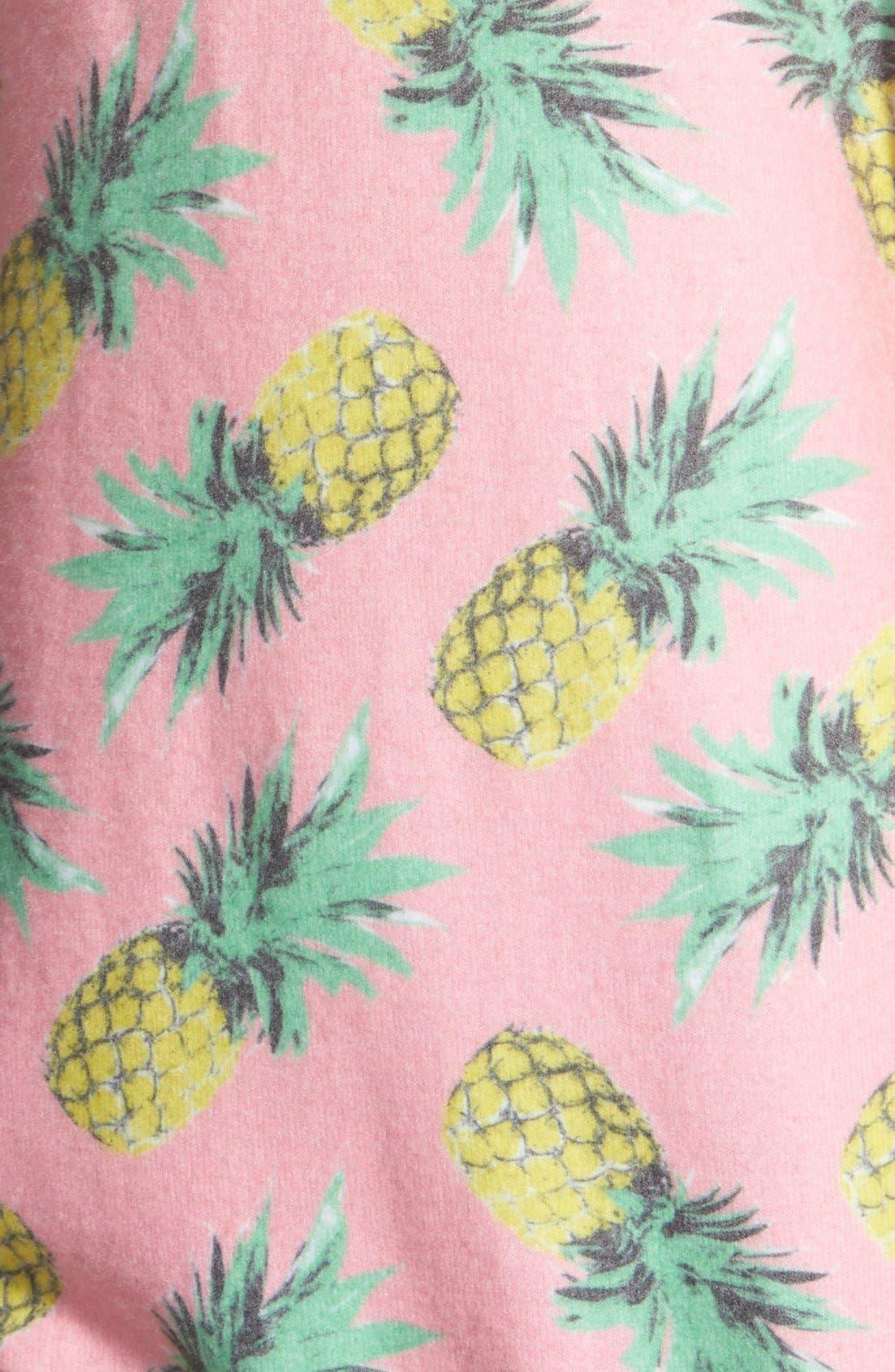 'Pineapple Palace' Sweatshirt,                             Alternate thumbnail 6, color,                             690
