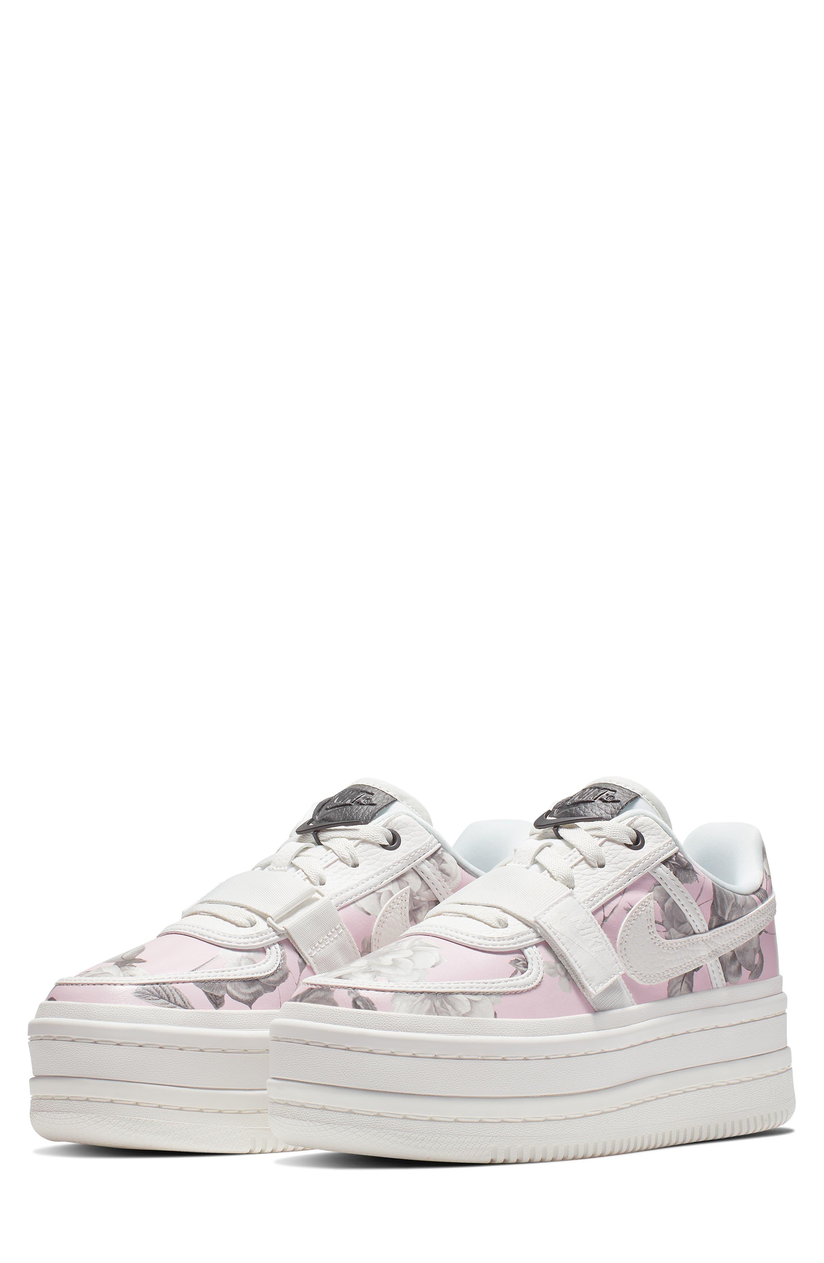 NIKE,                             Vandal 2K LX Platform Sneaker,                             Main thumbnail 1, color,                             WHITE/ WHITE/ BLACK
