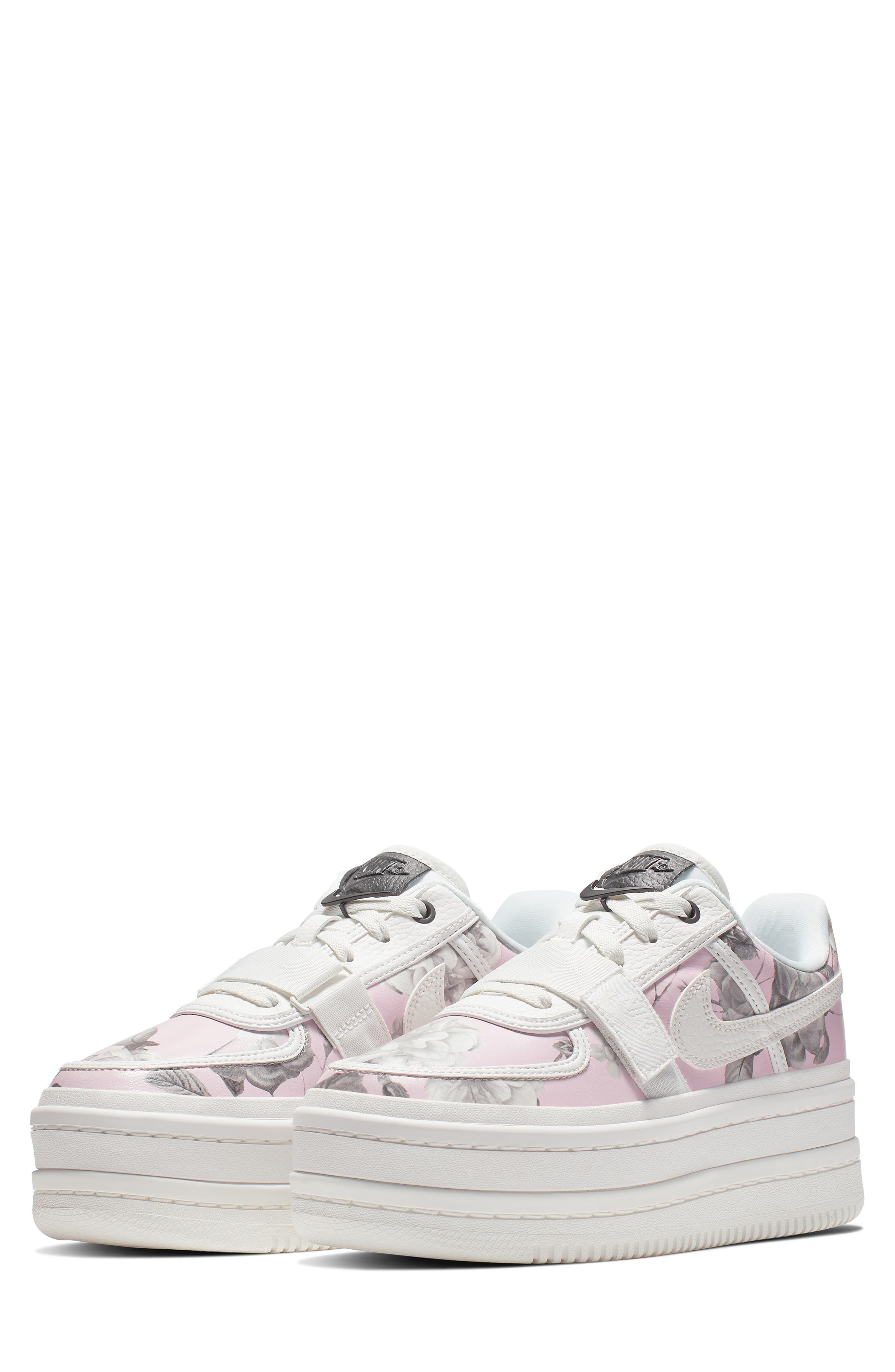 NIKE Vandal 2K LX Platform Sneaker, Main, color, WHITE/ WHITE/ BLACK