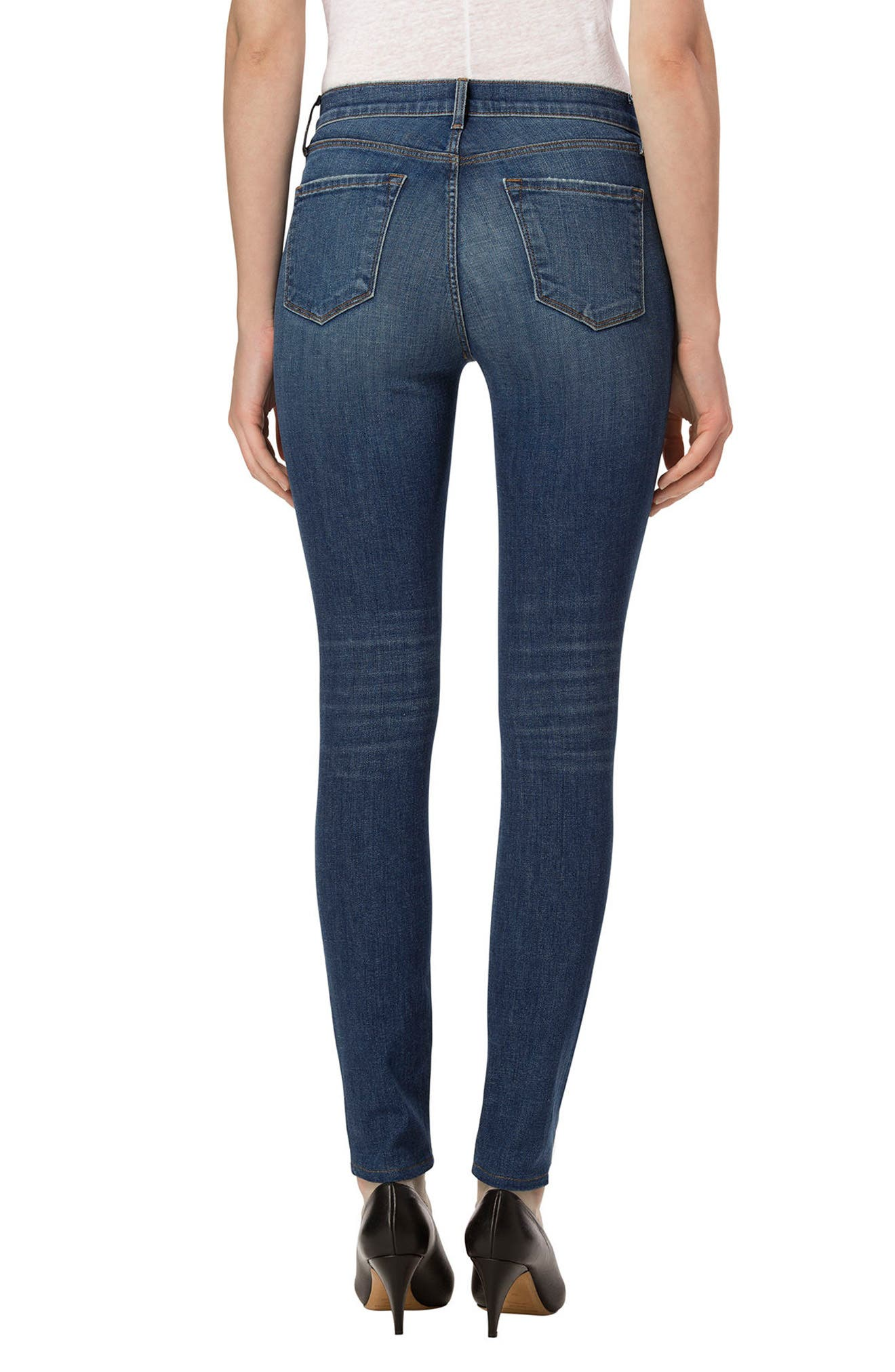 J BRAND,                             'Maria' High Rise Skinny Jeans,                             Alternate thumbnail 2, color,                             425