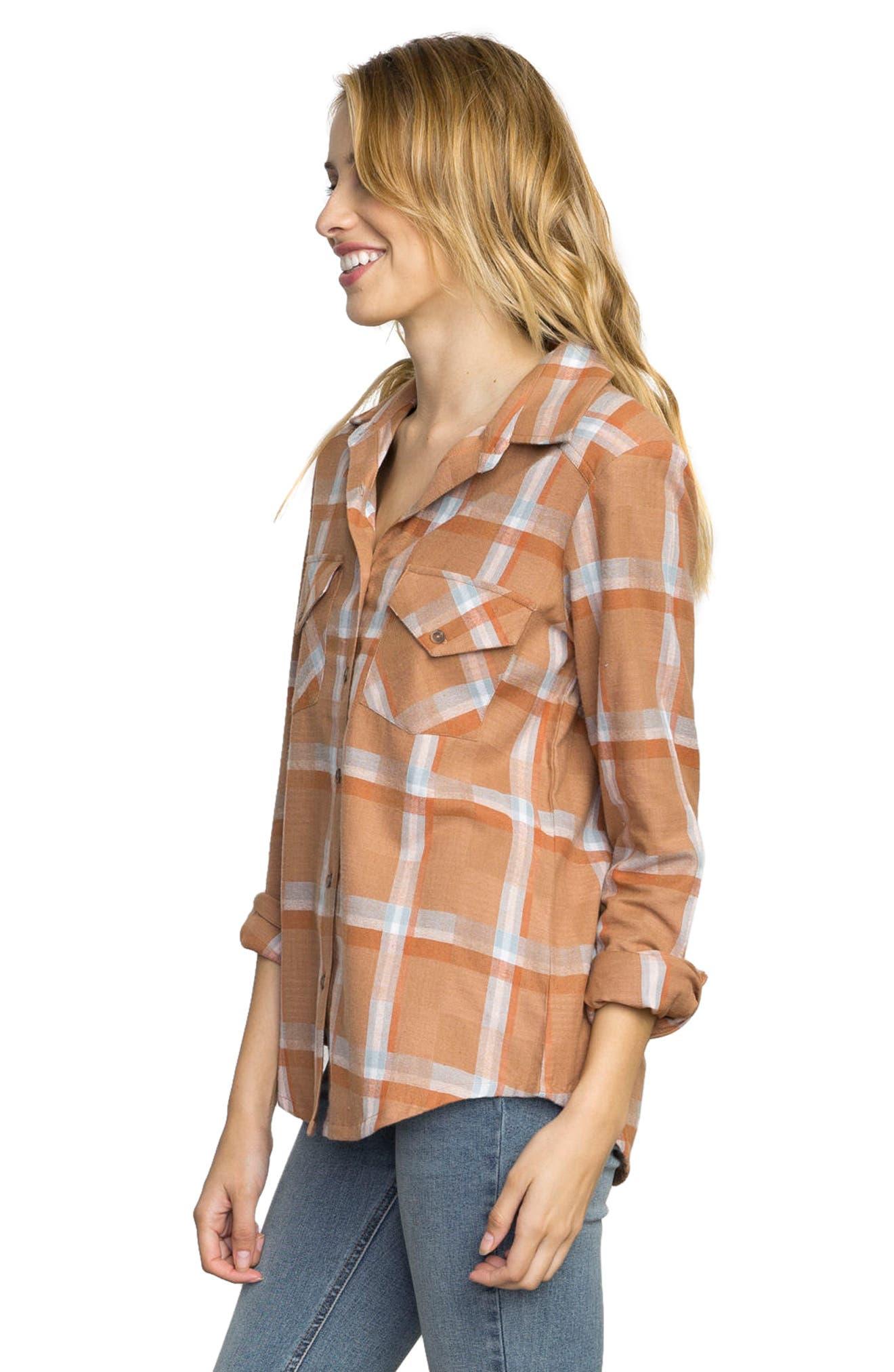 Plaid Flannel Shirt,                             Alternate thumbnail 10, color,