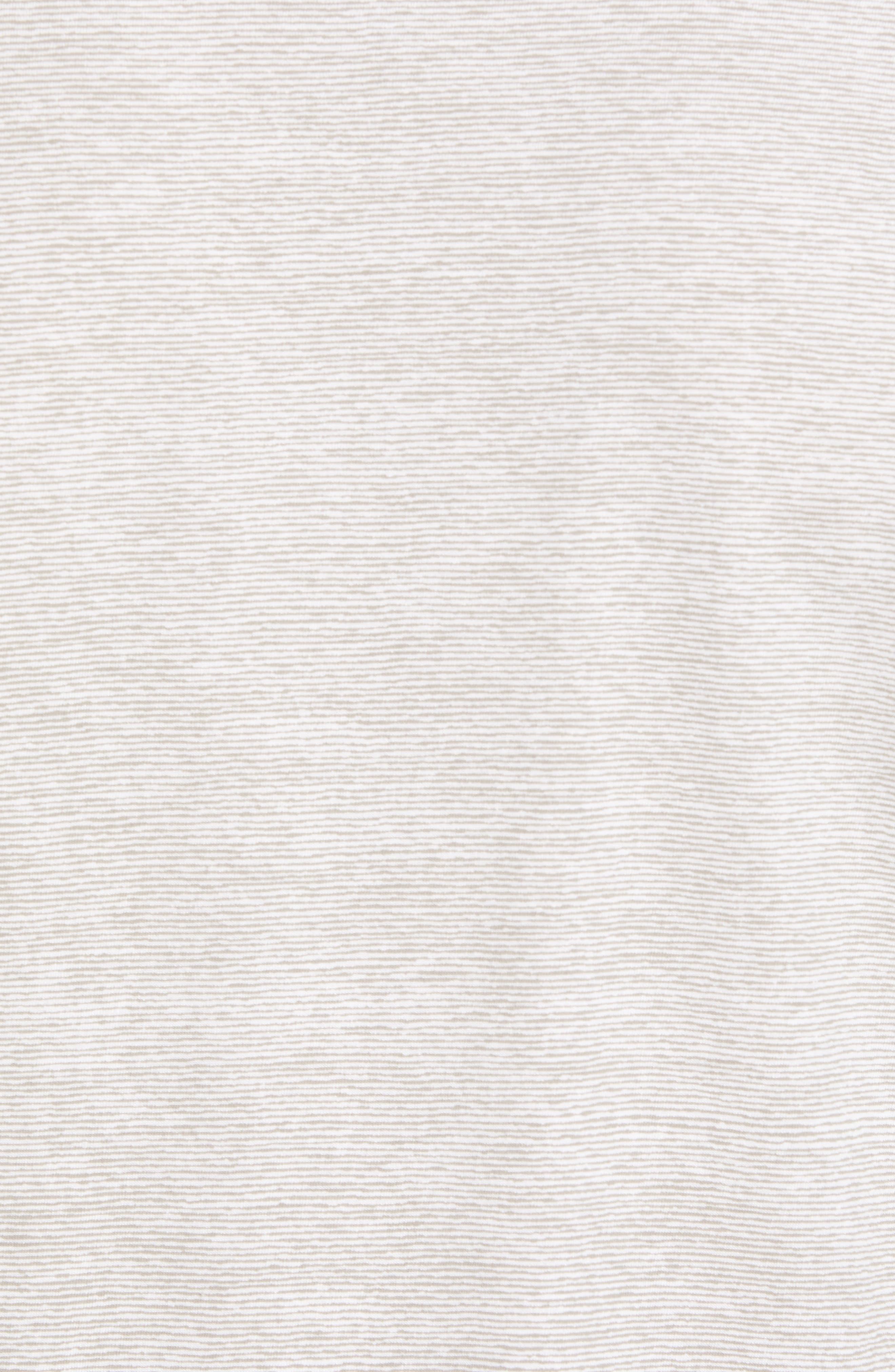Essential Regular Fit Short Short Sleeve Henley,                             Alternate thumbnail 5, color,                             021