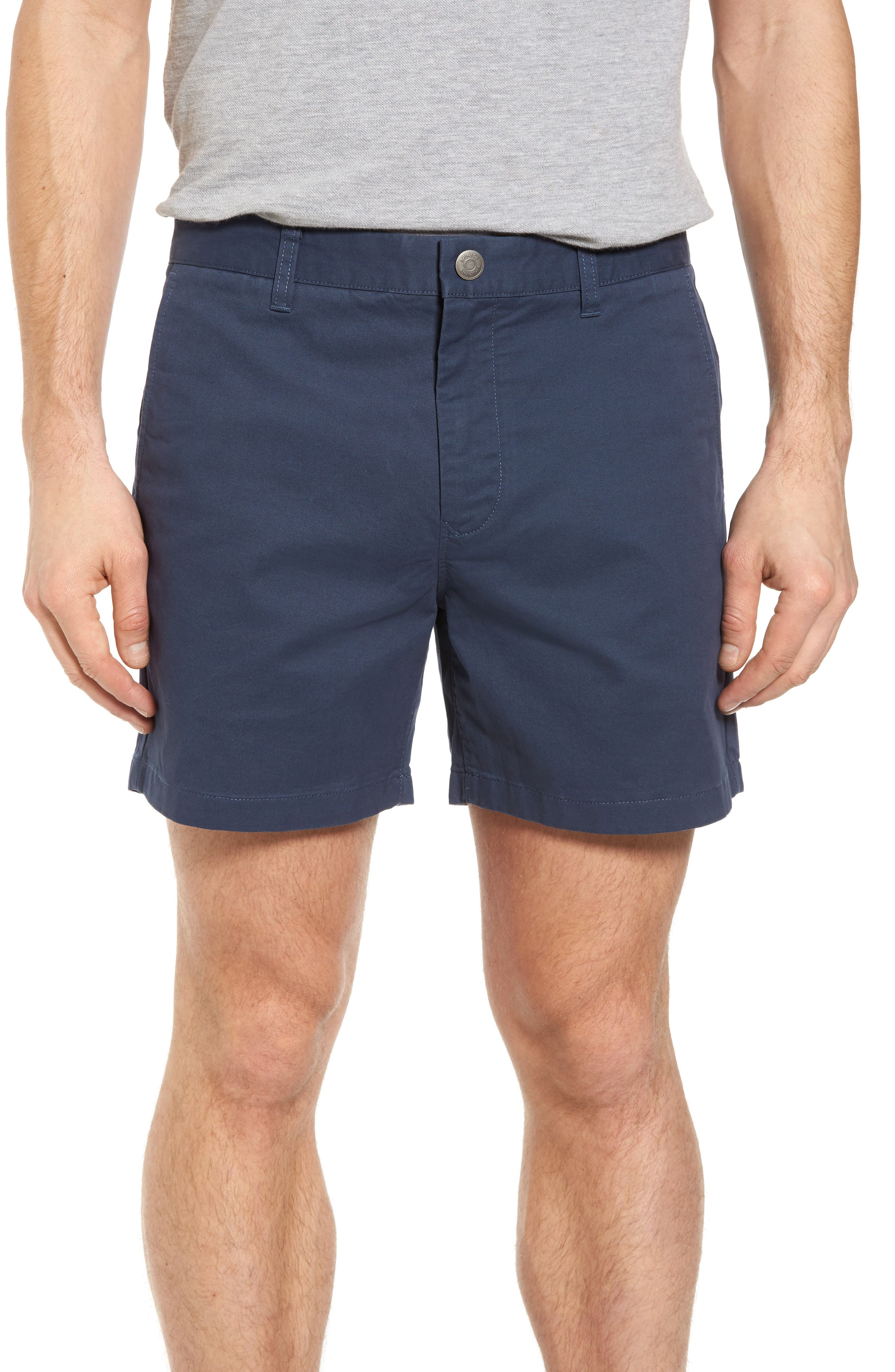 Stretch Washed Chino 5-Inch Shorts,                             Main thumbnail 12, color,