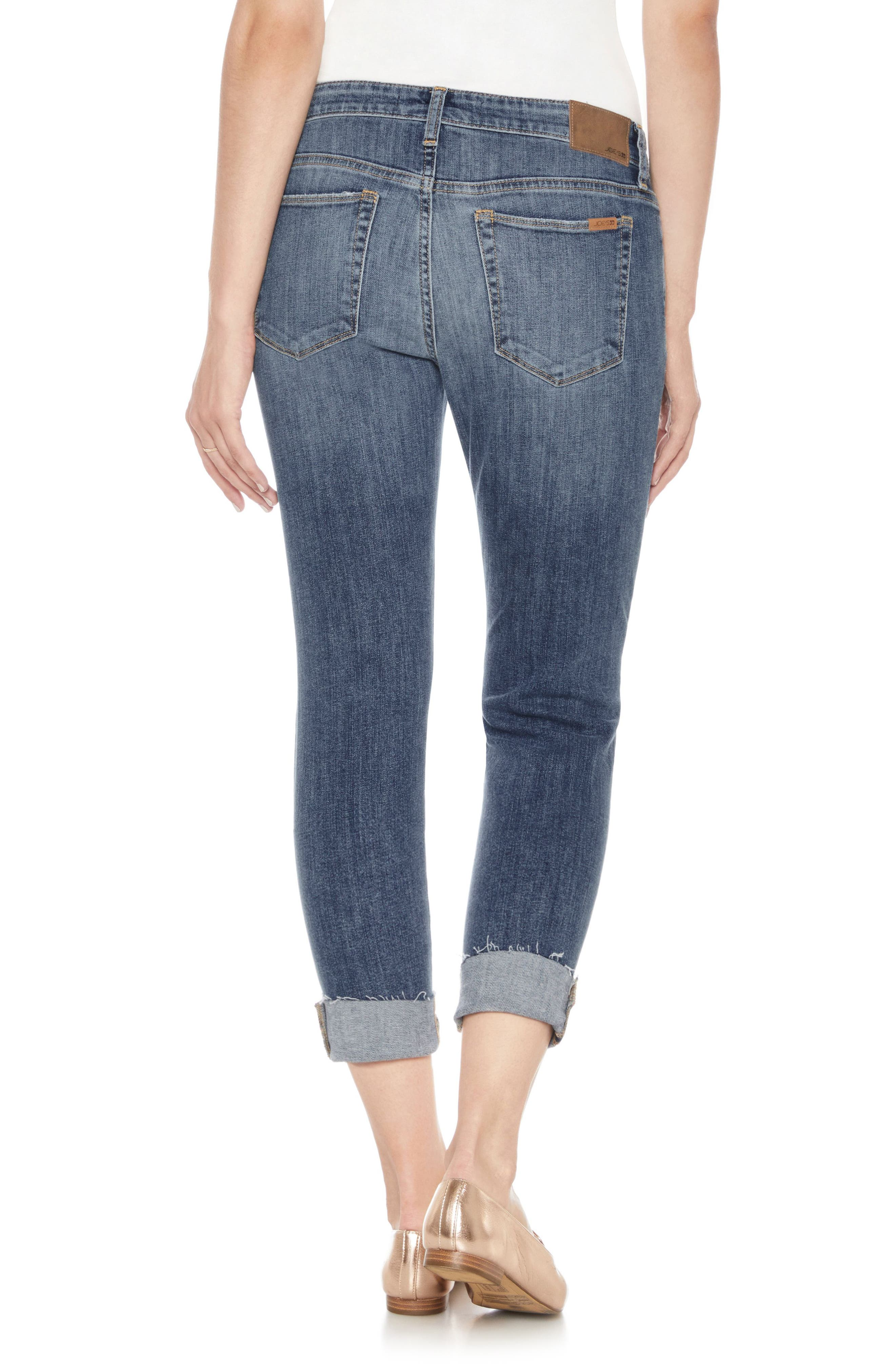 Smith Crop Skinny Jeans,                             Alternate thumbnail 2, color,