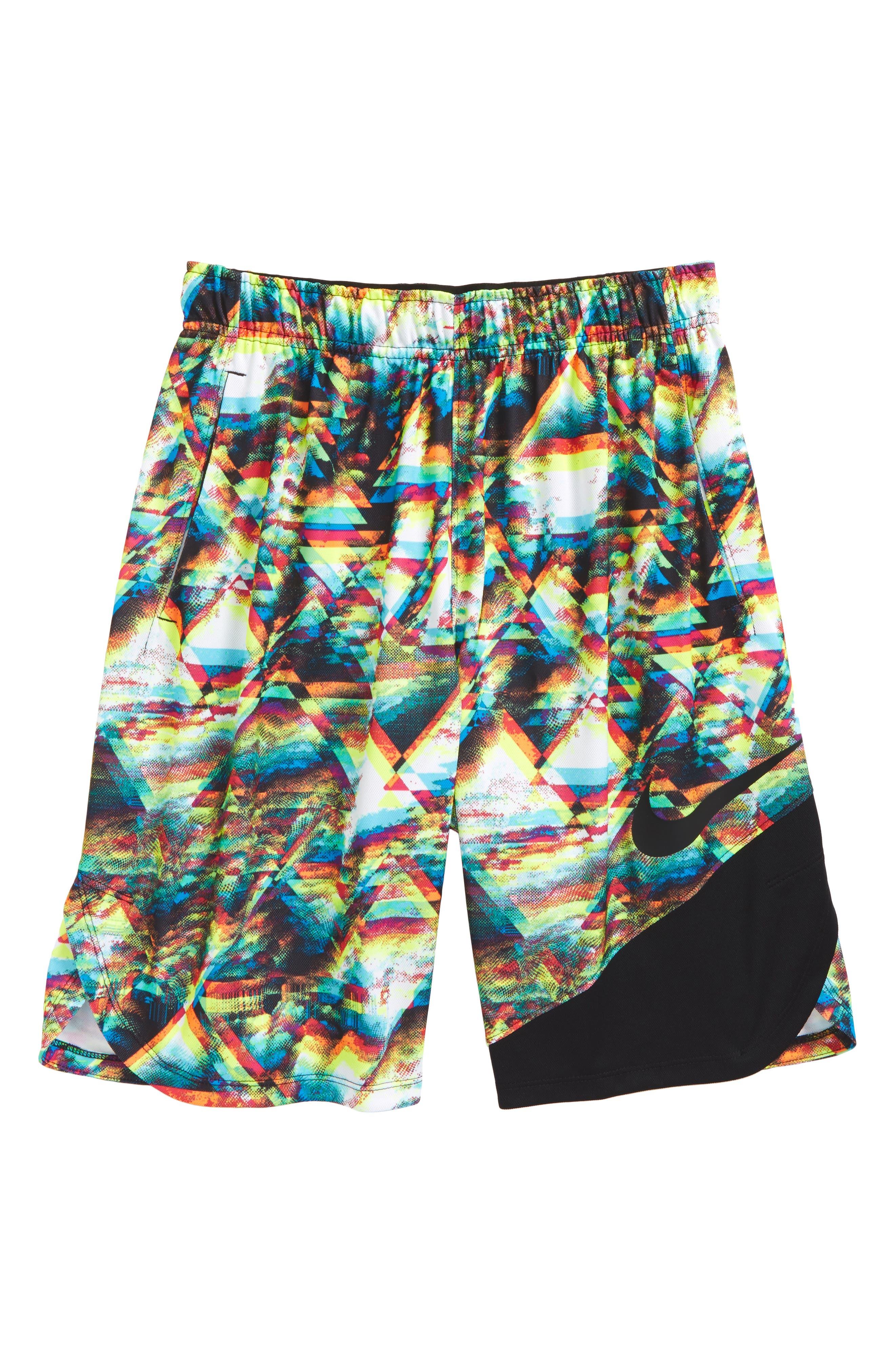 Dry Vent Print Training Shorts,                             Main thumbnail 2, color,