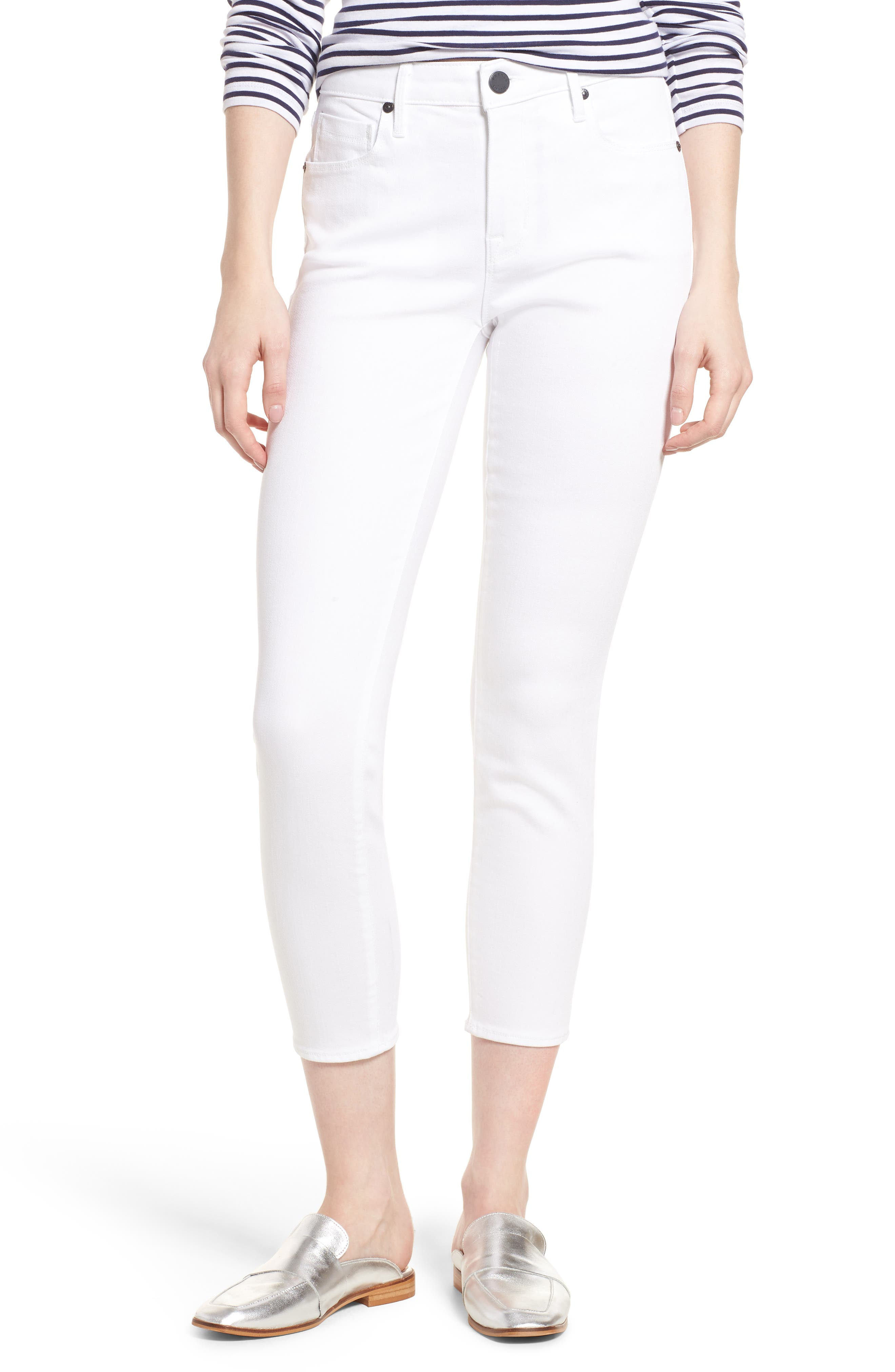 Ava Crop Skinny Jeans,                         Main,                         color, 100