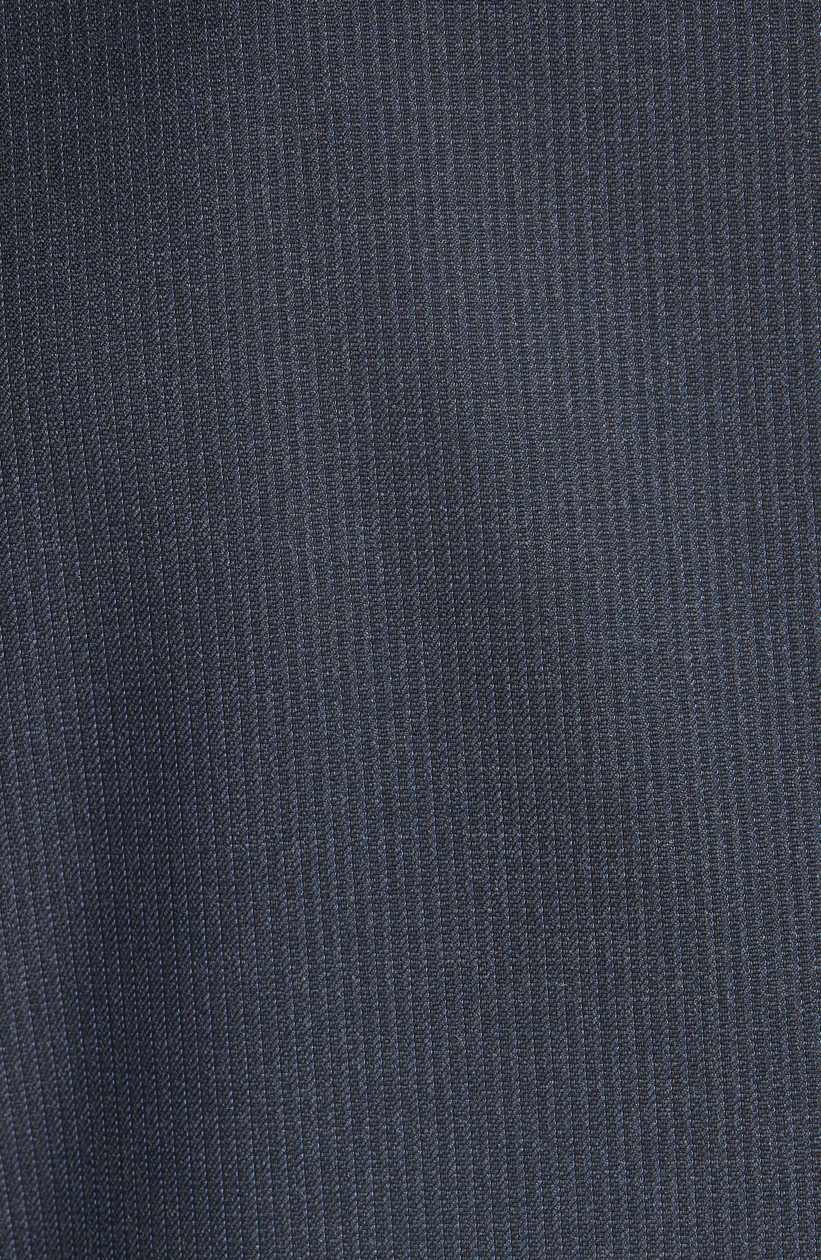 Classic Fit Stripe Wool Suit,                             Alternate thumbnail 7, color,                             020