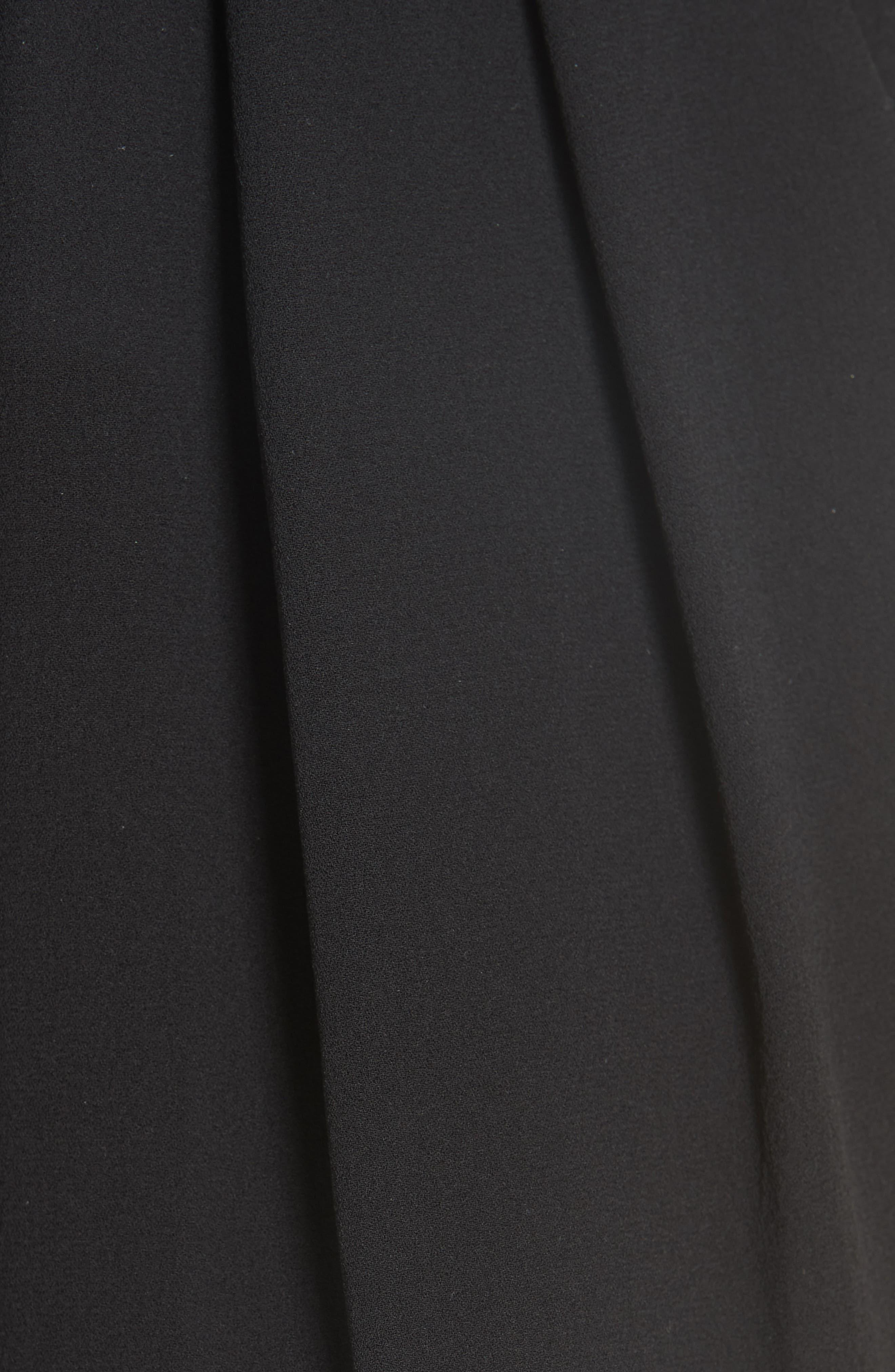 MICHAEL KORS,                             Silk Georgette Joggers,                             Alternate thumbnail 5, color,                             BLACK