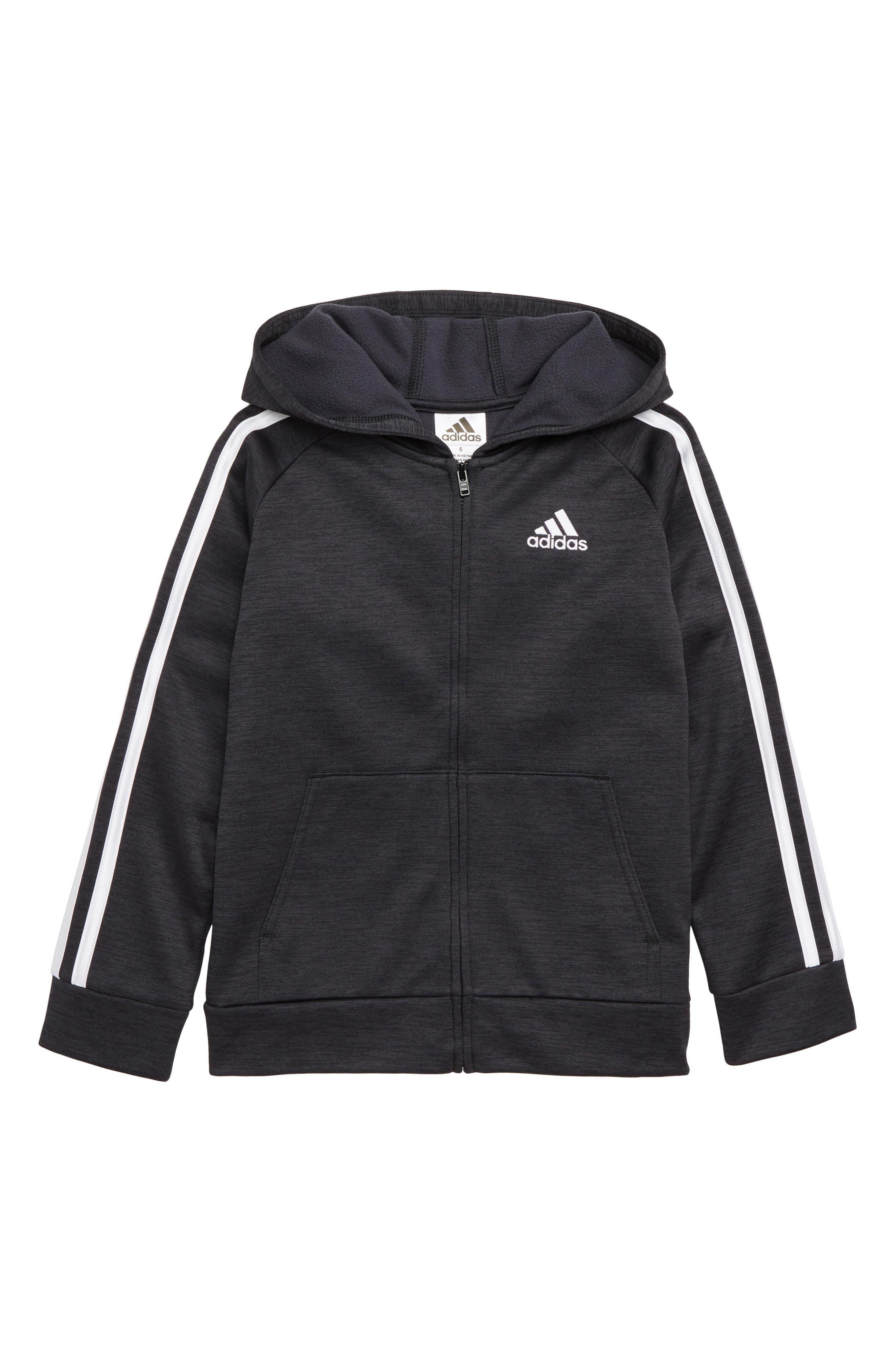 Toddler Boys Adidas Indicator 18 Hooded Jacket Size 4T  Blue