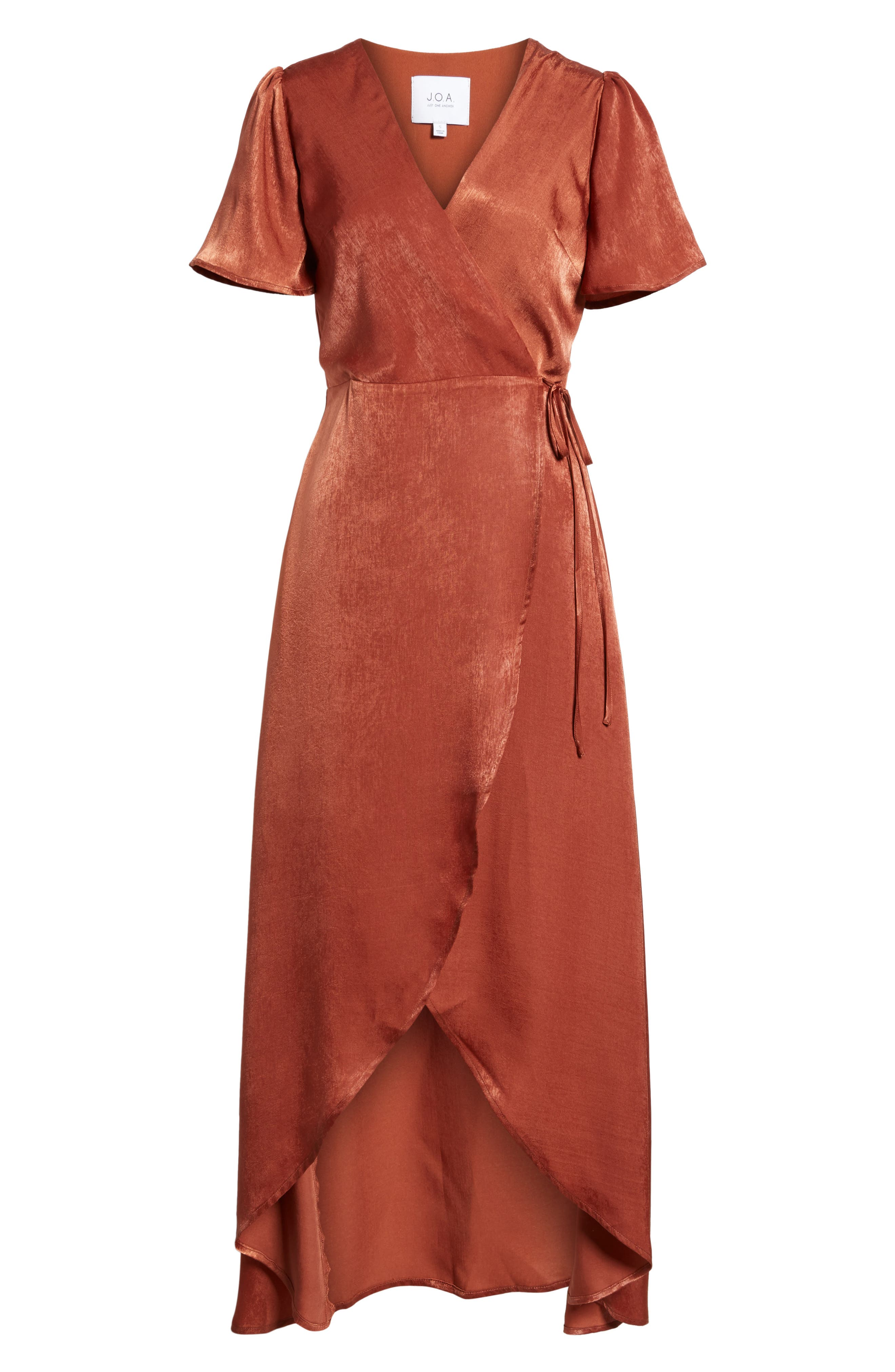 Wrap Maxi Dress,                             Alternate thumbnail 11, color,