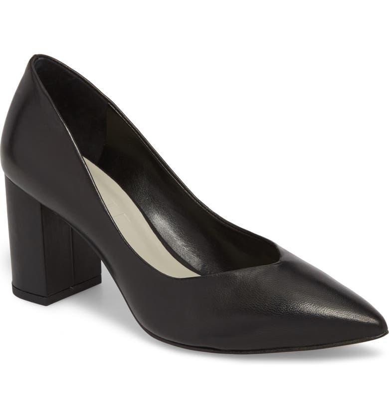 Order 1.STATE Saffy Block Heel Pump (Women) Great Price