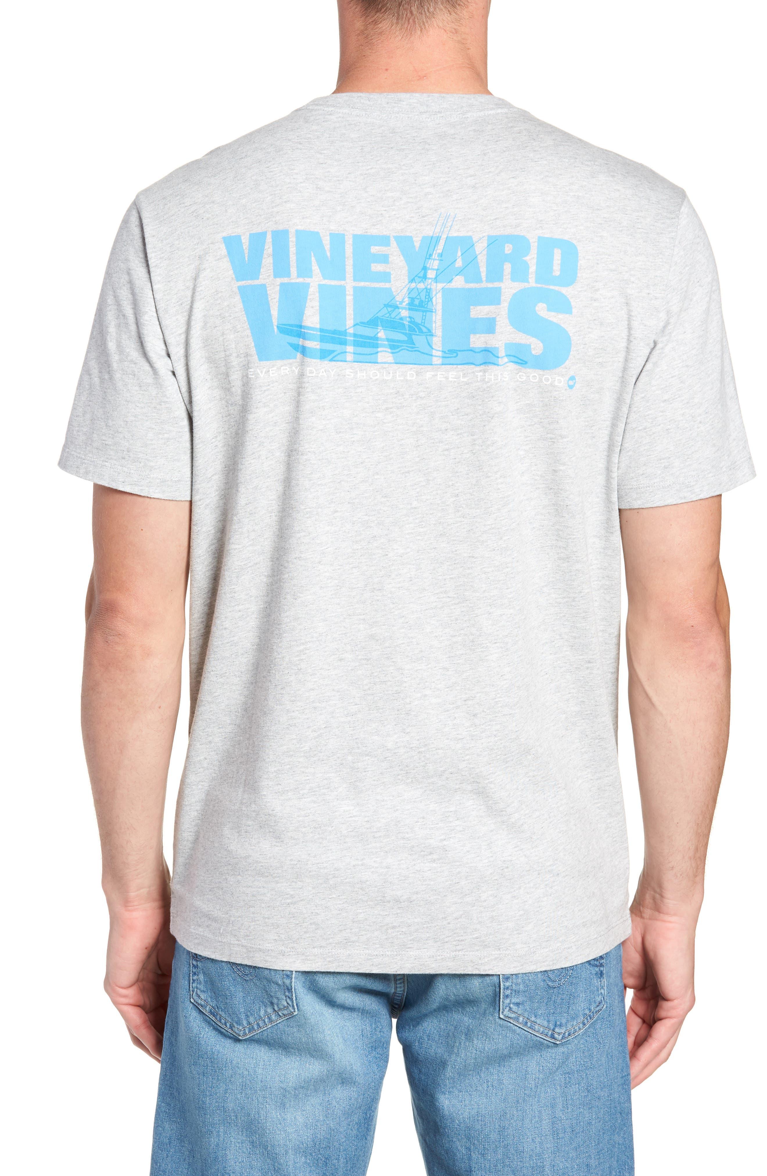 Knockout Sportfisher T-Shirt,                             Alternate thumbnail 2, color,                             GRAY HEATHER