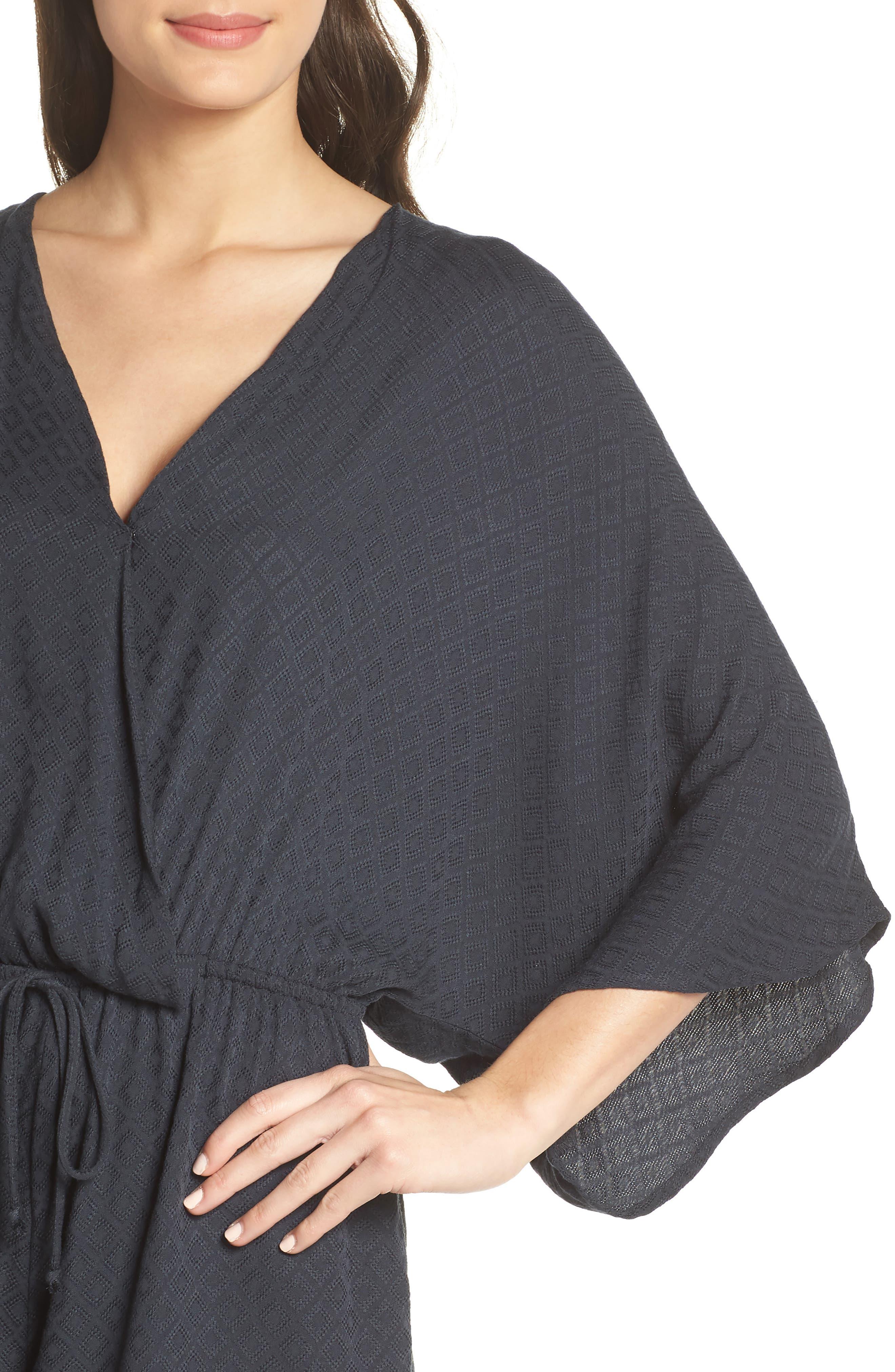 Kimono Sleeve Romper,                             Alternate thumbnail 4, color,                             419