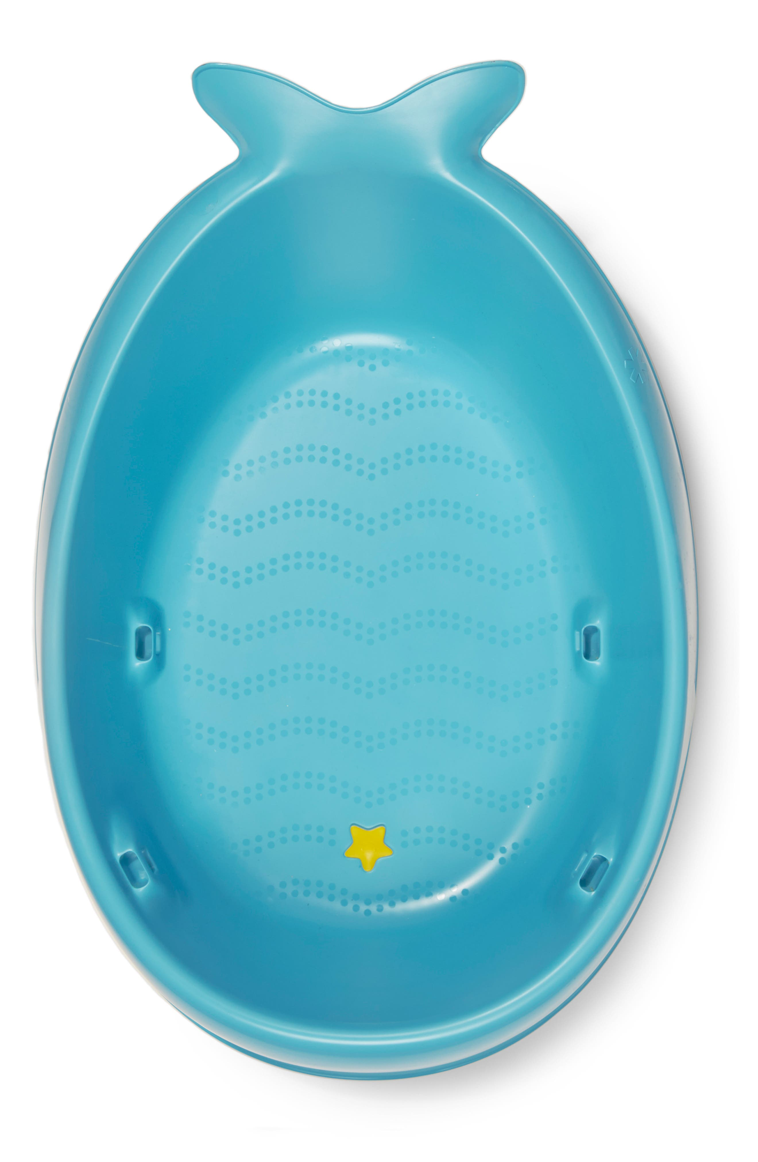 'Moby Smart Sling' Three-Stage Tub,                             Alternate thumbnail 4, color,                             BLUE