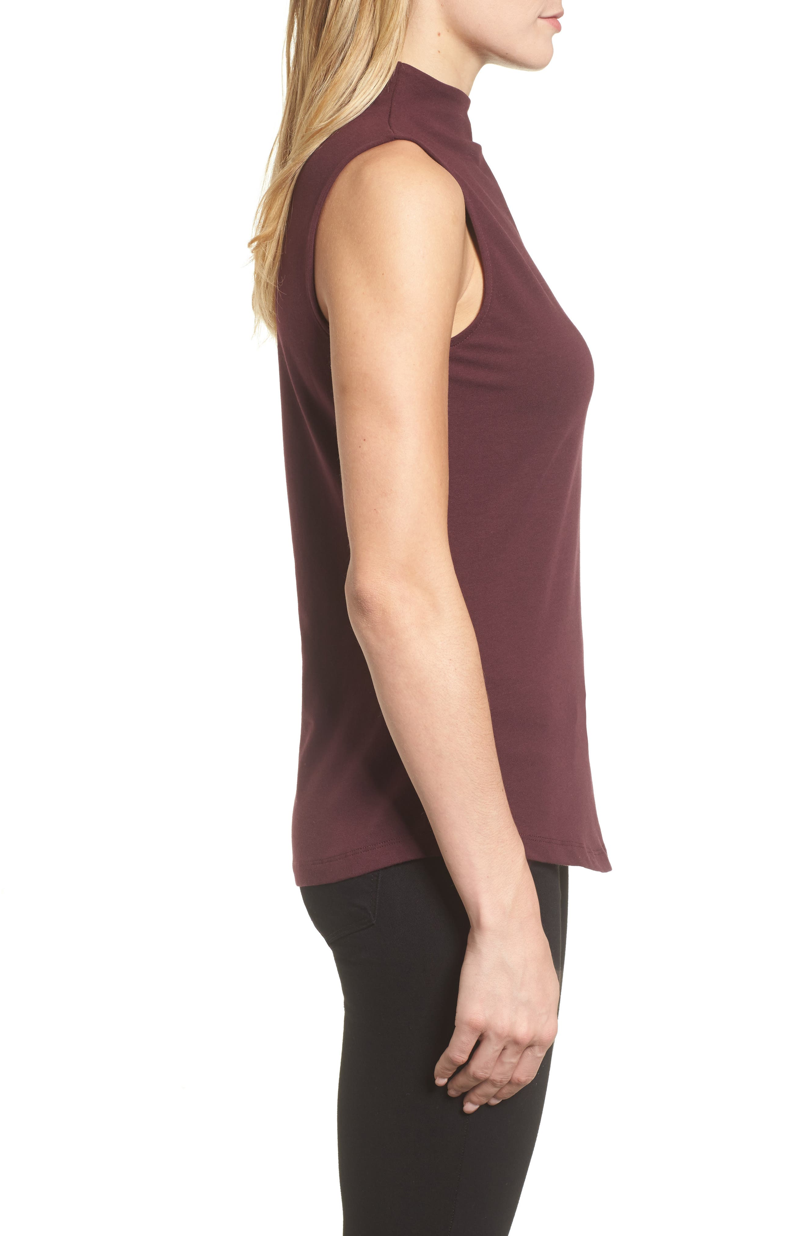The Perfect Mock Neck Top,                             Alternate thumbnail 21, color,
