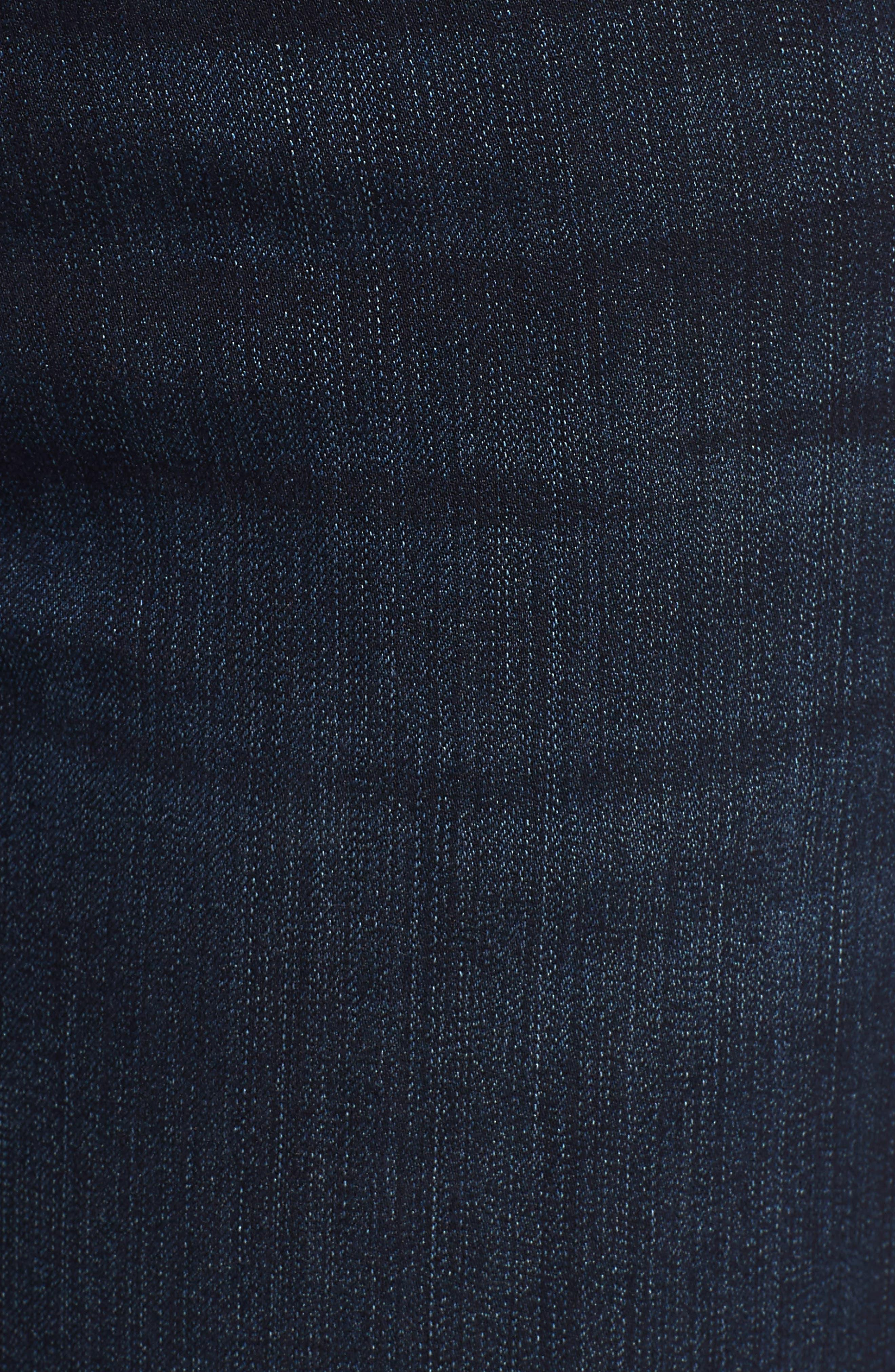 'Grace' Straight Jeans,                             Alternate thumbnail 6, color,                             405