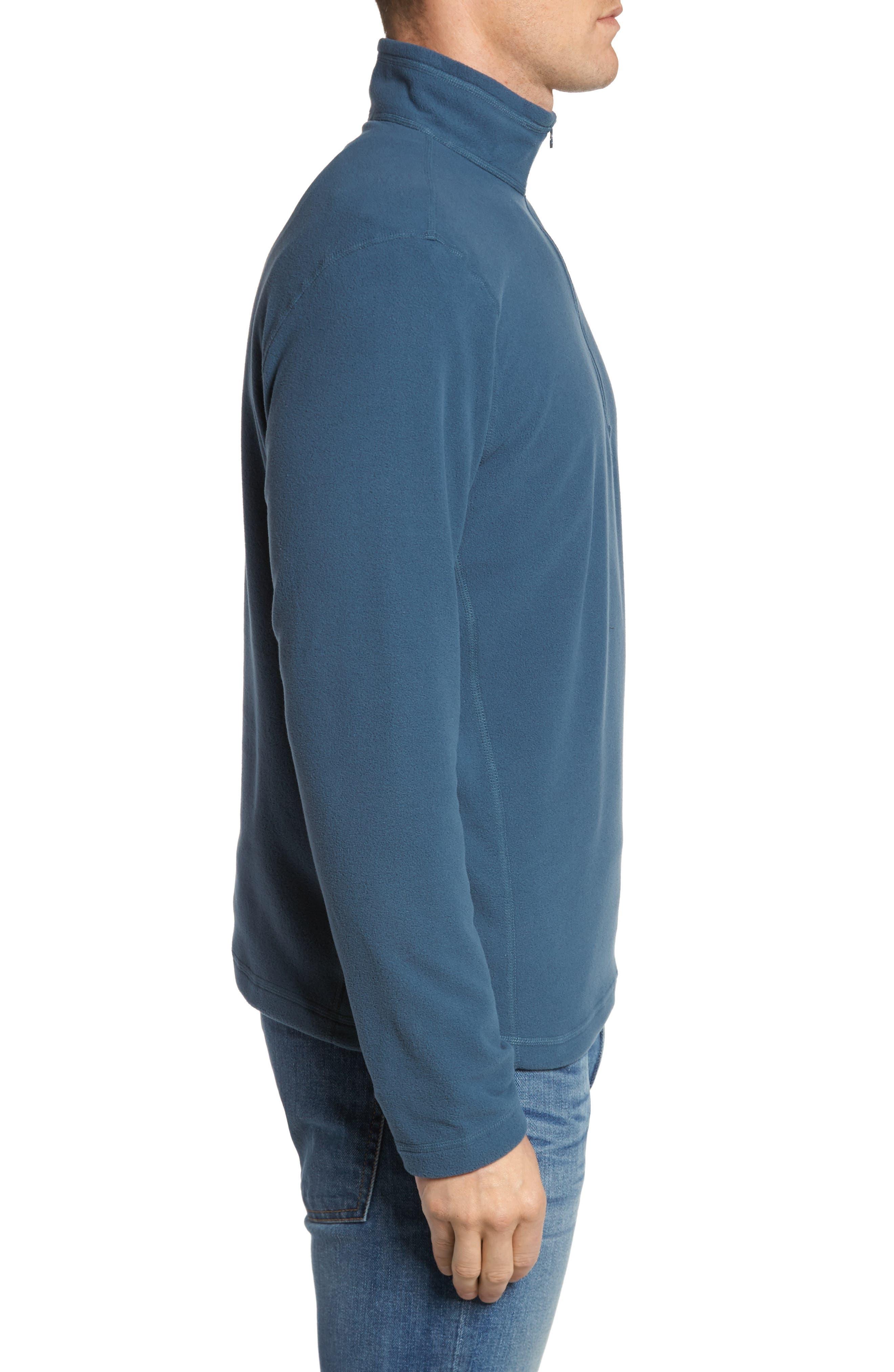 'TKA 100 Glacier' Quarter Zip Fleece Pullover,                             Alternate thumbnail 139, color,