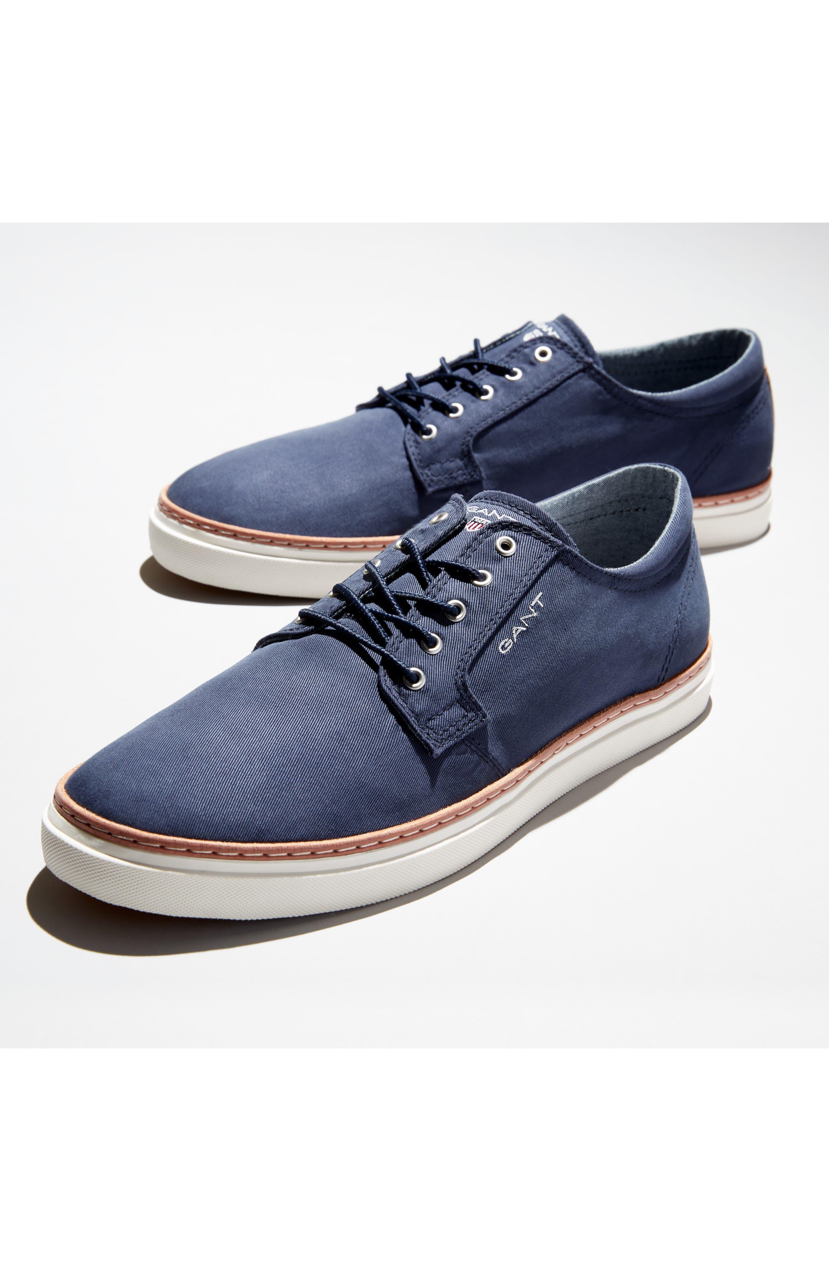 Bari Sneaker,                             Alternate thumbnail 7, color,                             RED TWILL