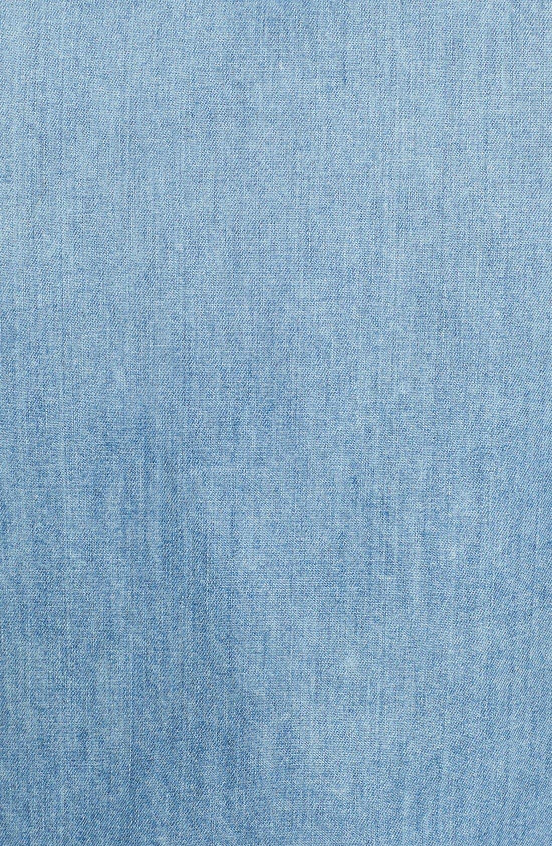 'Barstow' Denim Western Shirt,                             Alternate thumbnail 22, color,