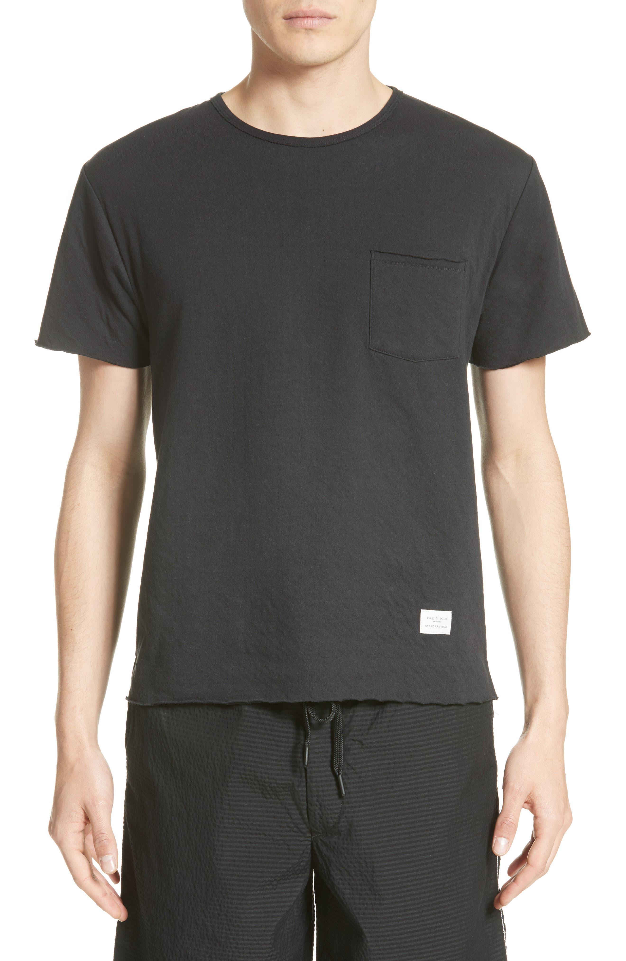 Pocket T-Shirt,                         Main,                         color, 001