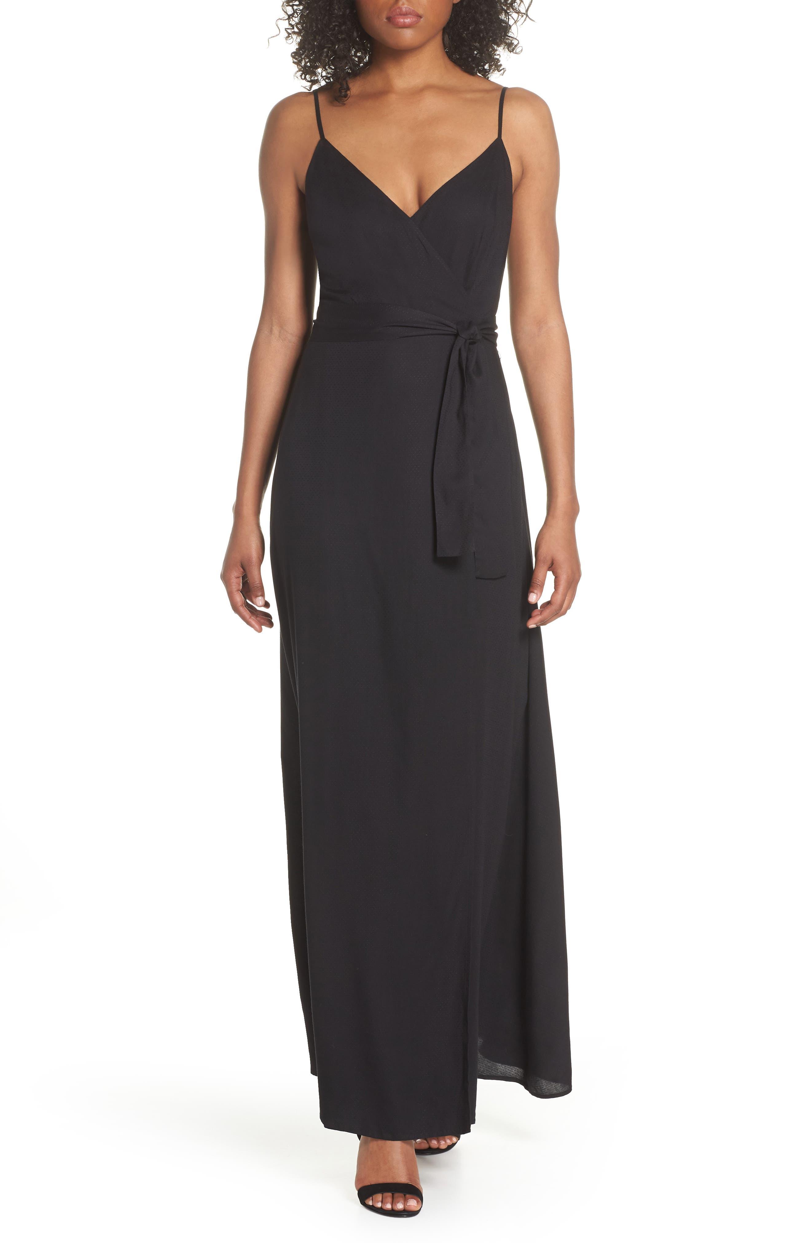 Regina Sleeveless Maxi Dress,                         Main,                         color, 001