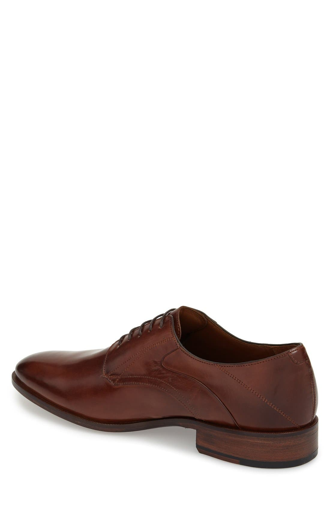'Nolen' Plain Toe Derby,                             Alternate thumbnail 6, color,                             206