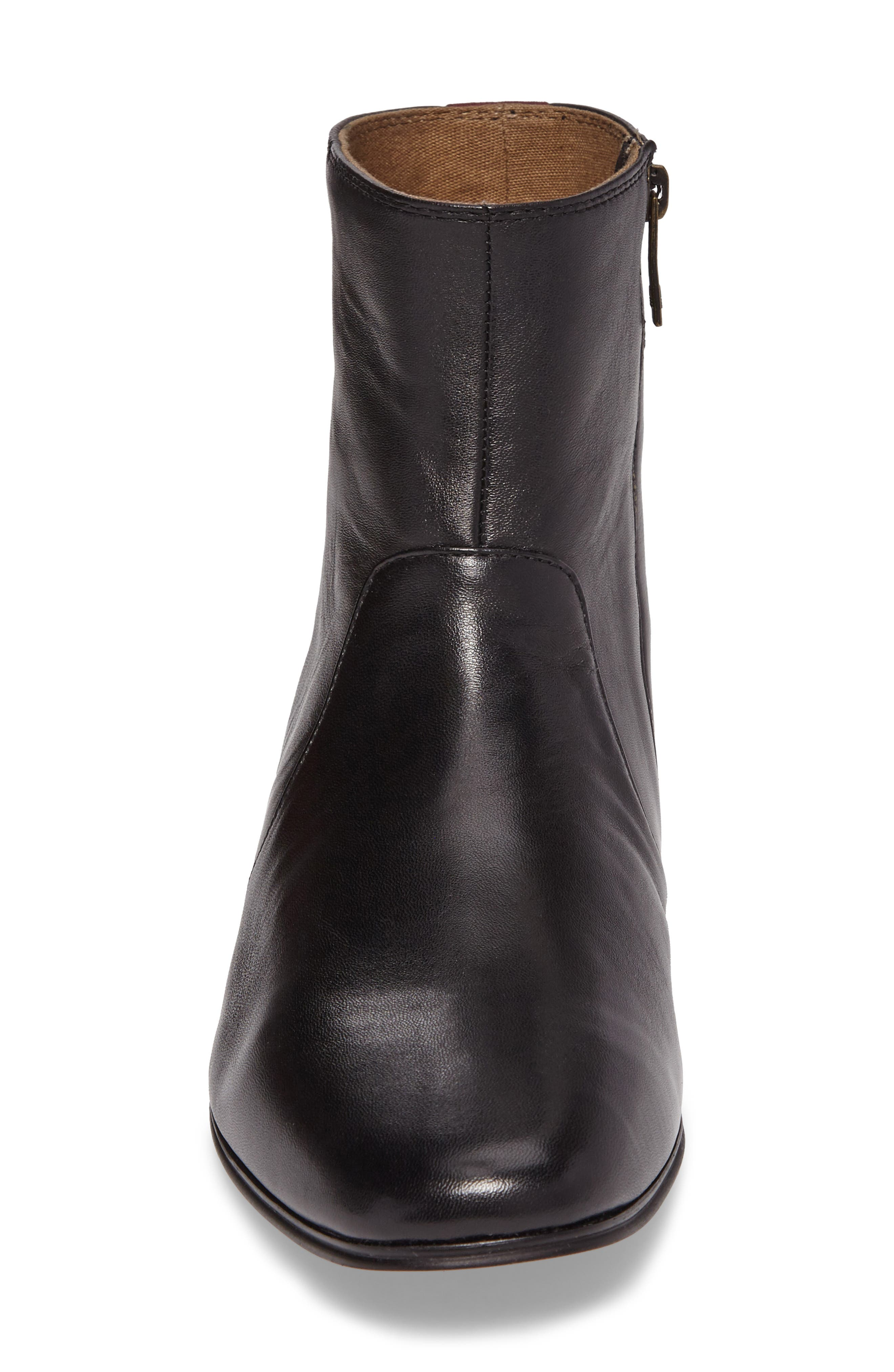 Arly Zip Boot,                             Alternate thumbnail 4, color,                             002