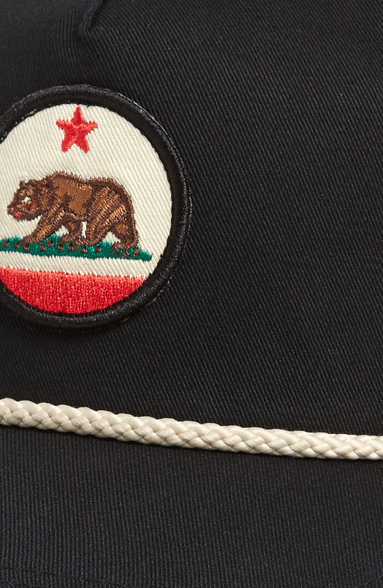 California Snapback Baseball Cap,                             Alternate thumbnail 3, color,                             014