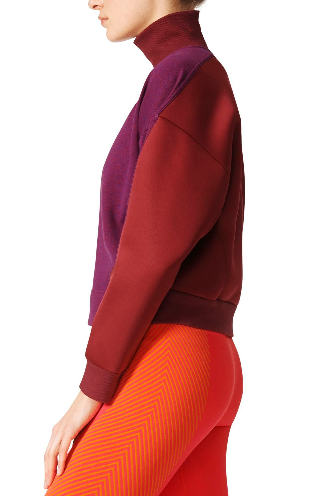 Yoga Turtleneck Sweatshirt,                             Alternate thumbnail 3, color,                             599