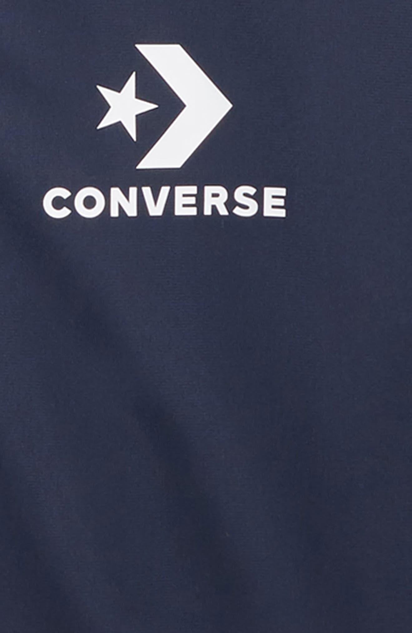 CONVERSE,                             Track Jacket,                             Alternate thumbnail 2, color,                             418