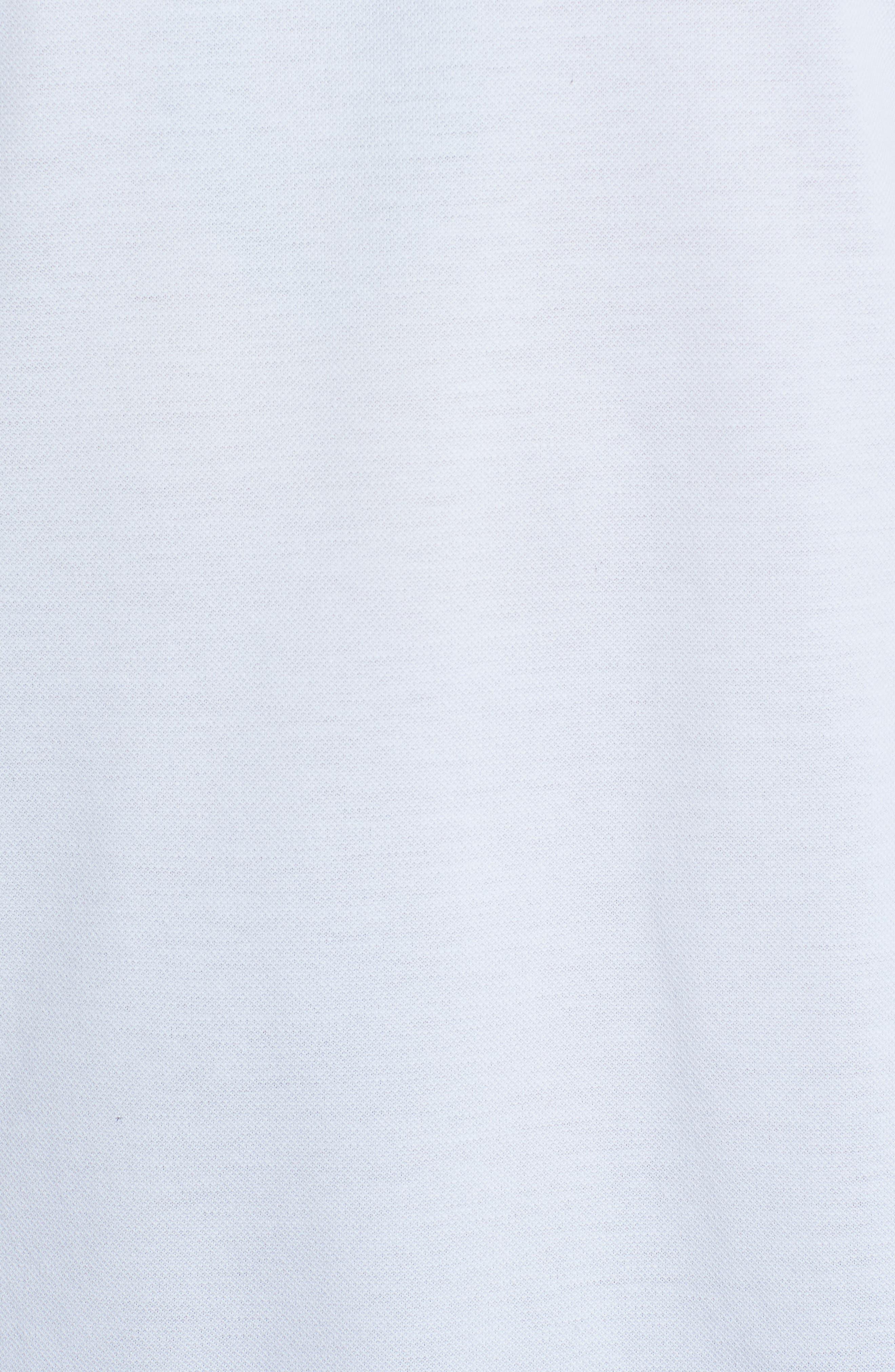 Regular Fit Polo,                             Alternate thumbnail 5, color,                             OPTIC WHITE