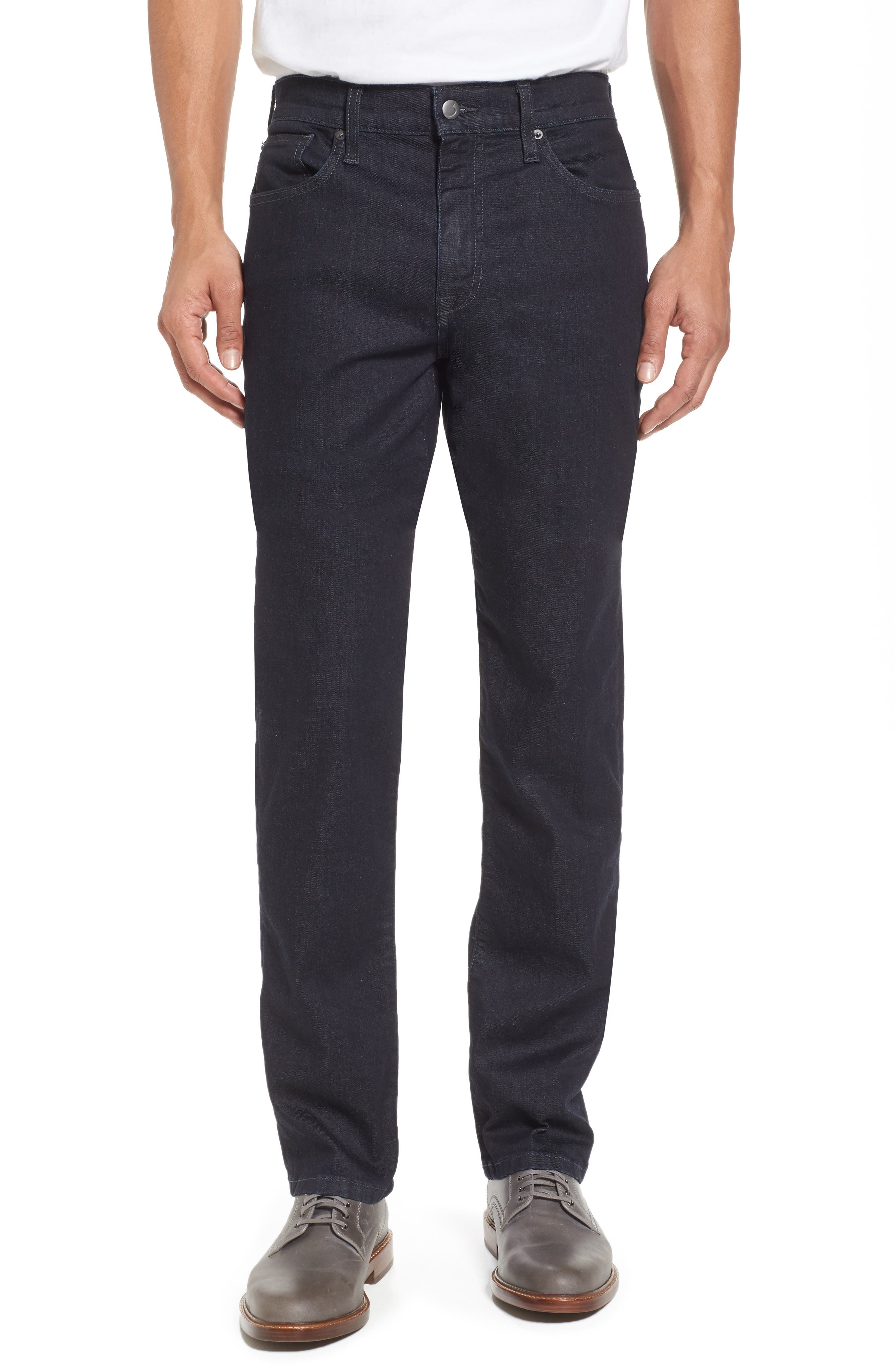 Brixton Slim Straight Leg Jeans,                         Main,                         color, 400