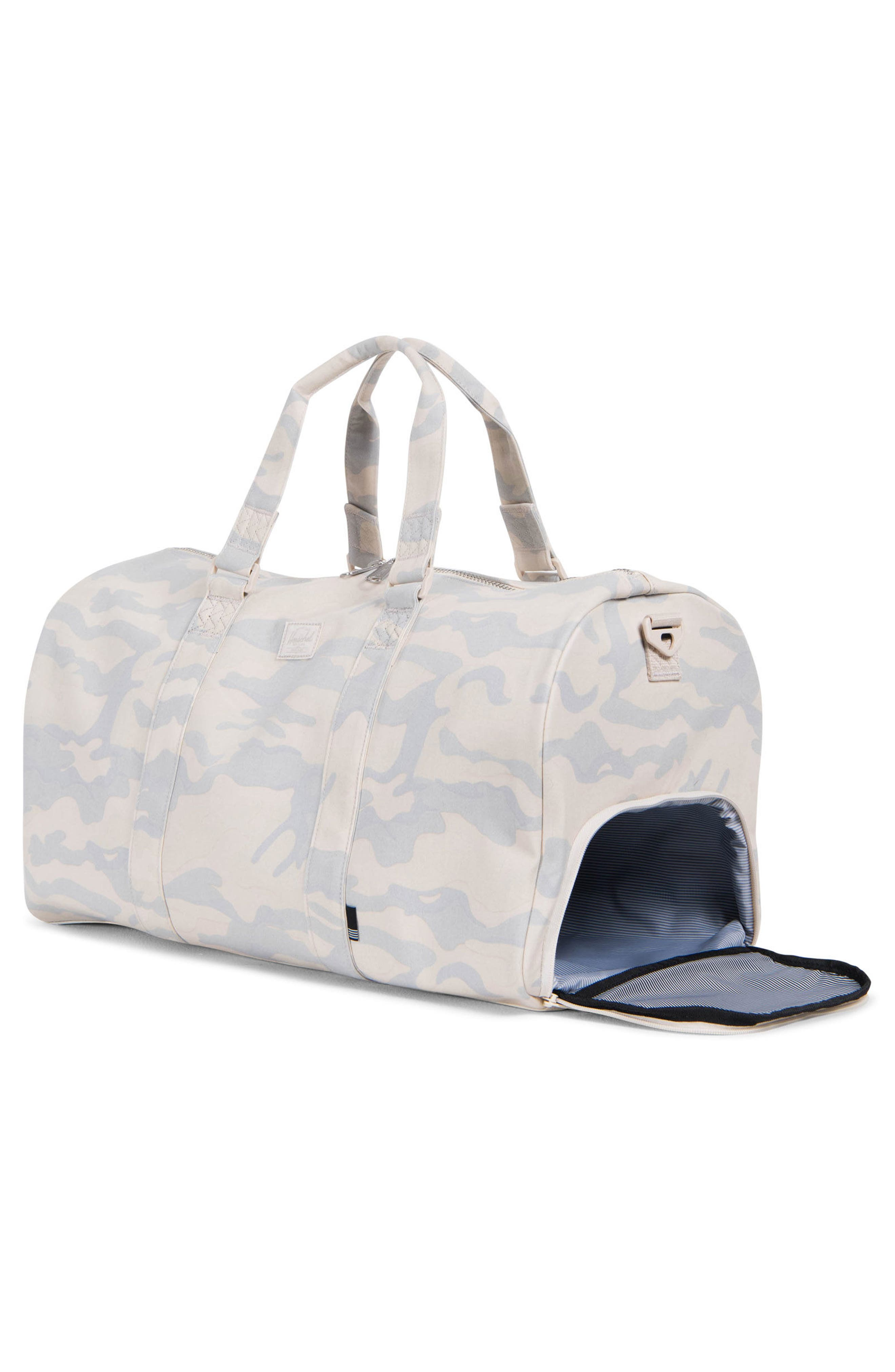 Novel Cotton Canvas Duffel Bag,                             Alternate thumbnail 2, color,                             250
