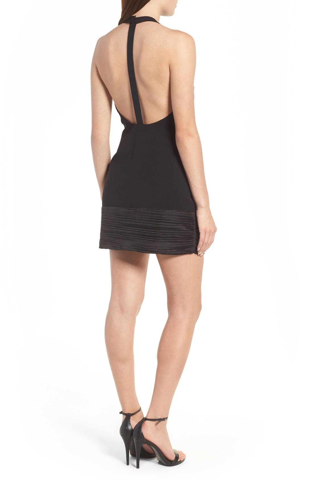 NBD,                             Evelyn T-Back Dress,                             Alternate thumbnail 7, color,                             001