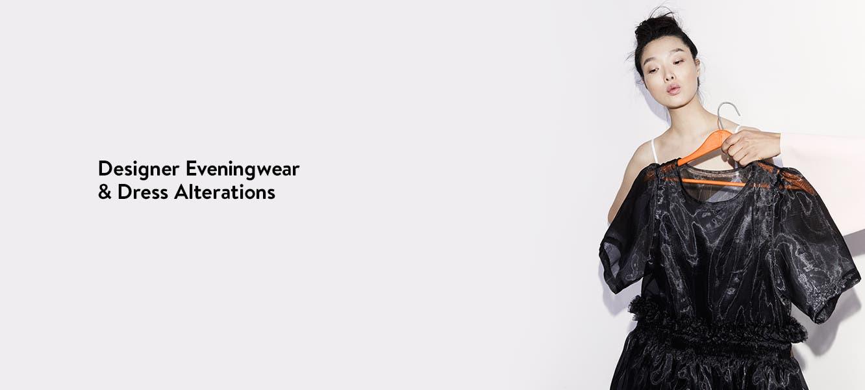 Designer eveningwear and dress alterations.