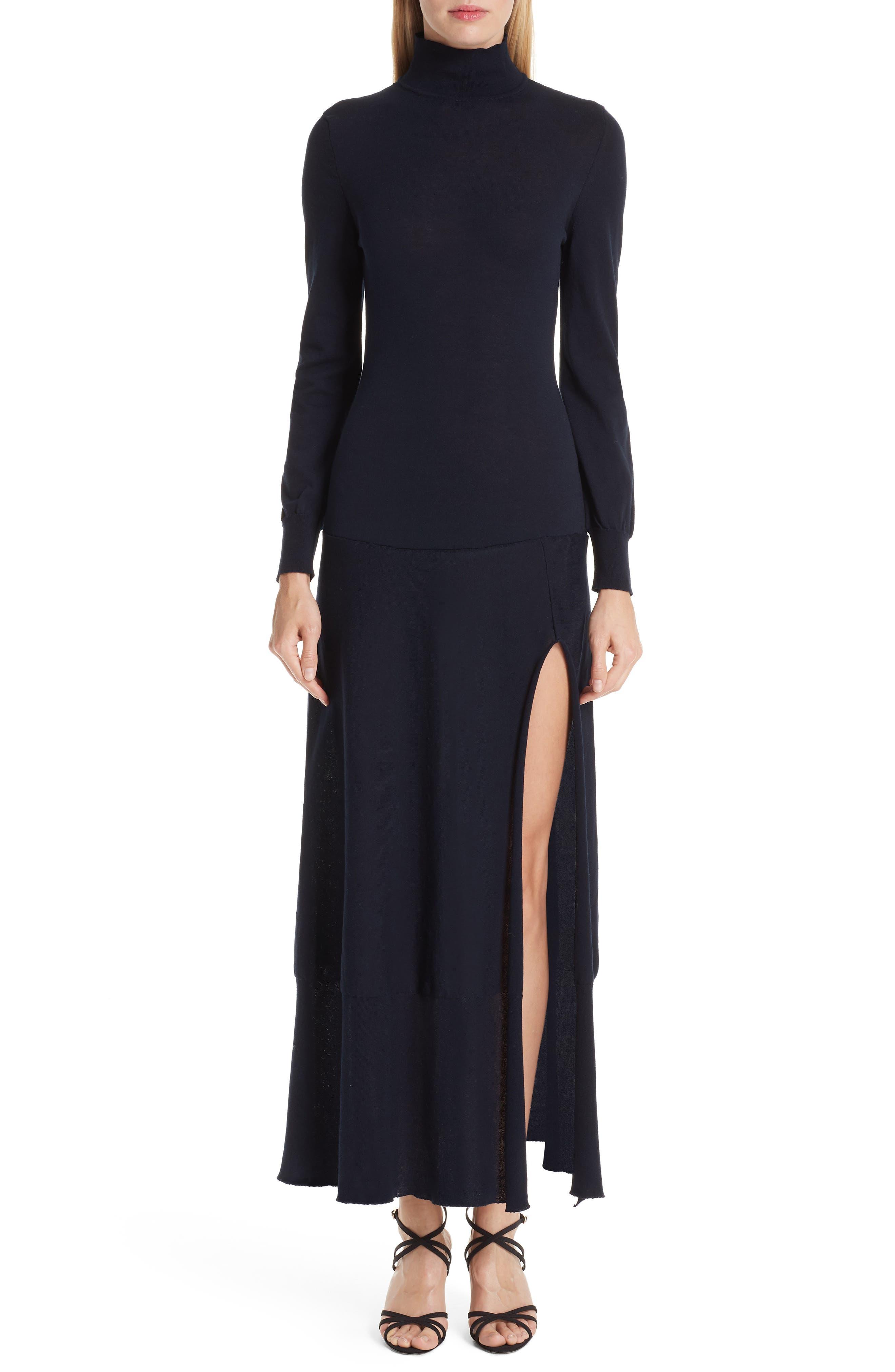 La Robe Baya Knit Dress,                             Main thumbnail 1, color,                             400